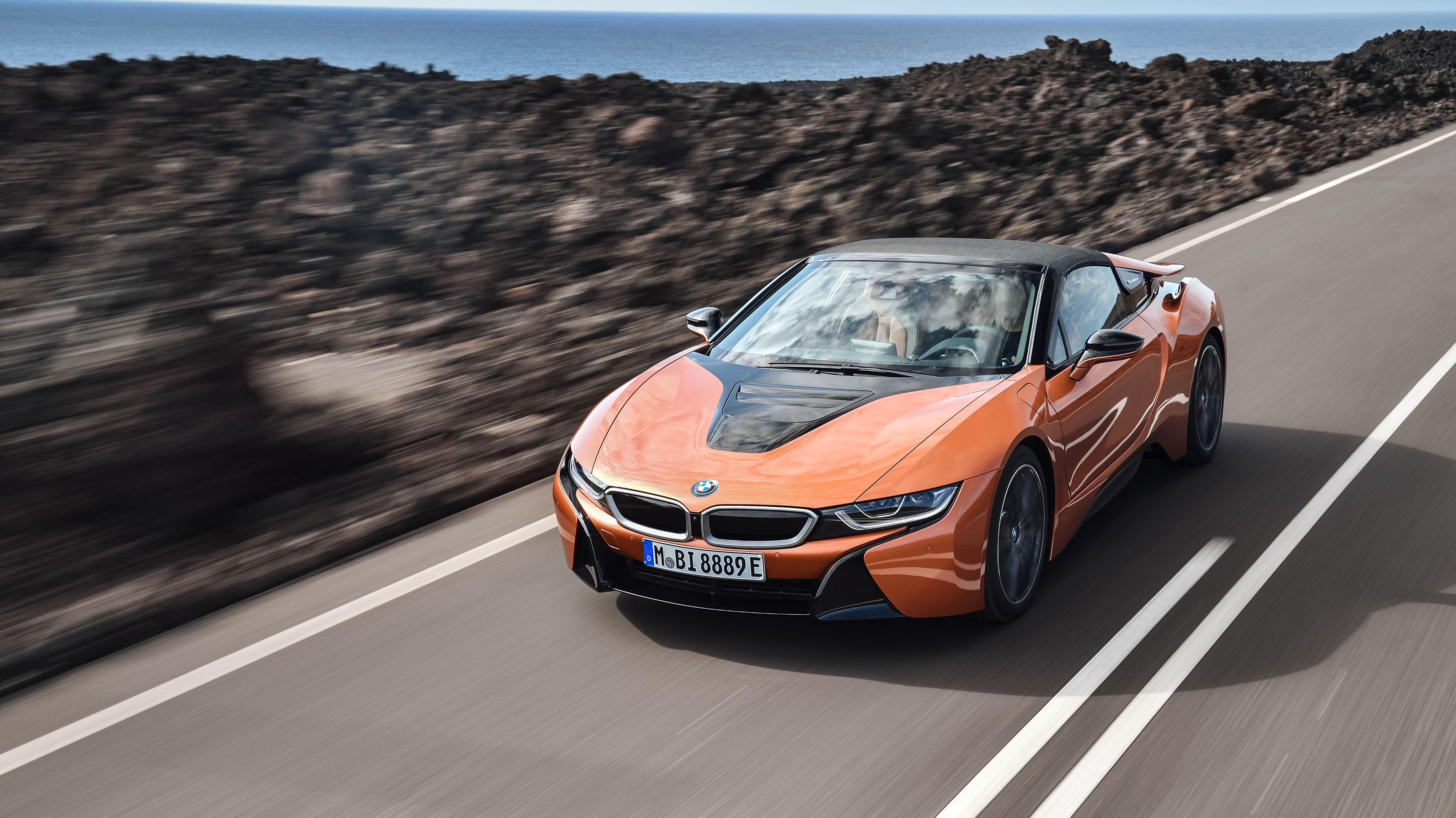 2018 BMW i8 Roadster 4K Wallpapers