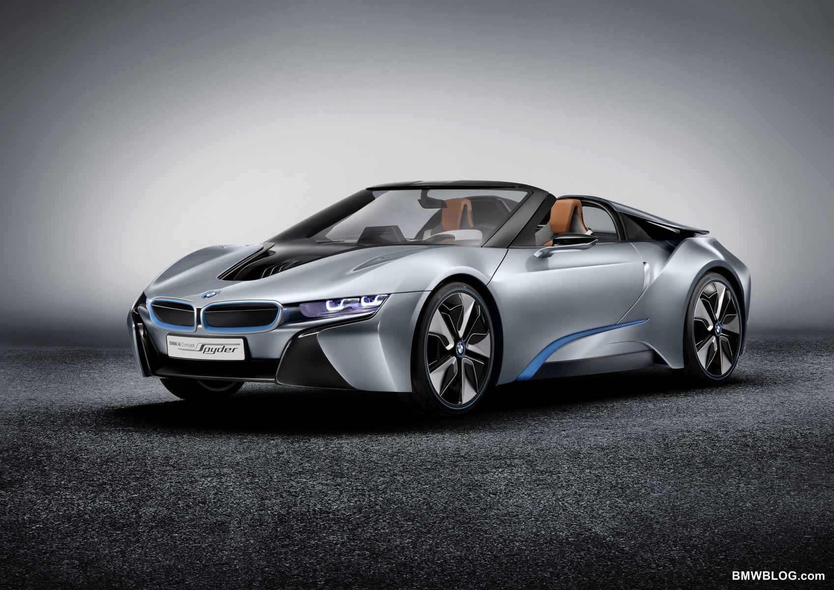 SPIED: BMW i8 Spyder caught testing with roof on