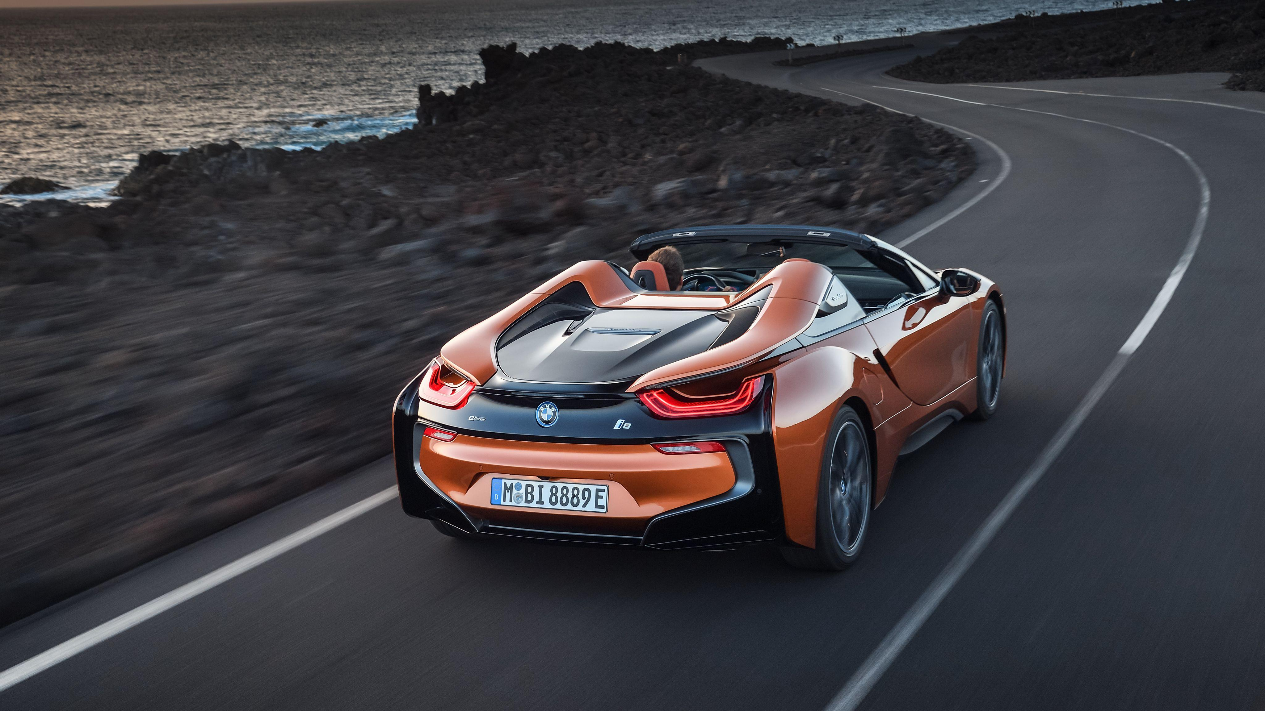 2018 BMW i8 Roadster 4K 2 Wallpapers