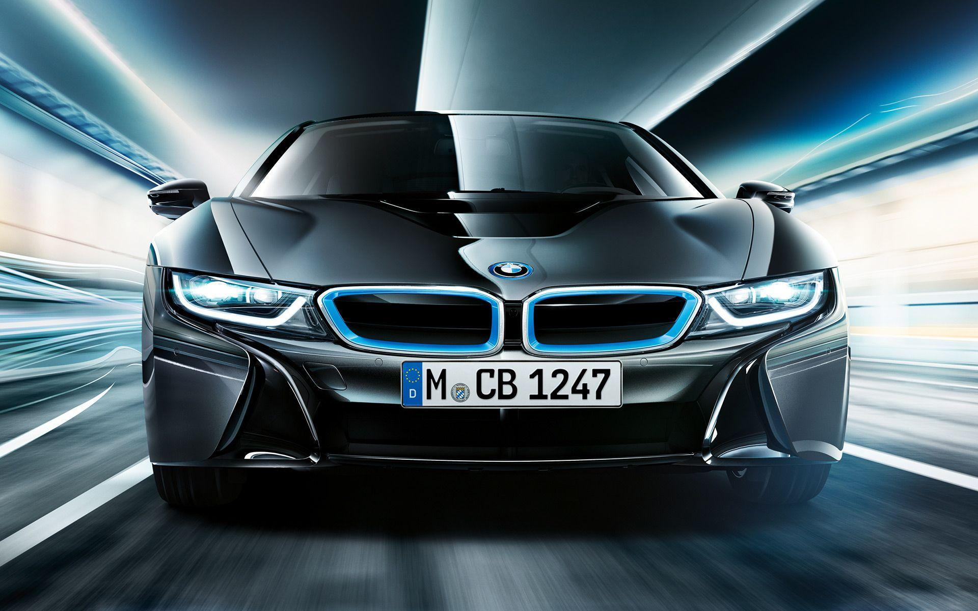 Wallpapers: BMW i8 Protonic Frozen Black Edition