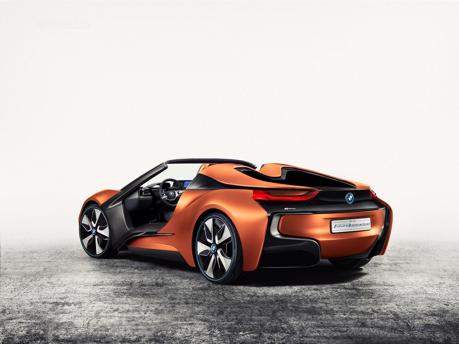 BMW confirms i8 Roadster for 2018