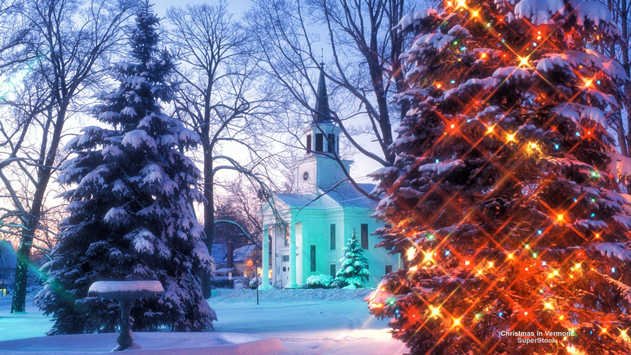 Vermont wallpapers wallpaper cave - Christmas nature wallpaper ...