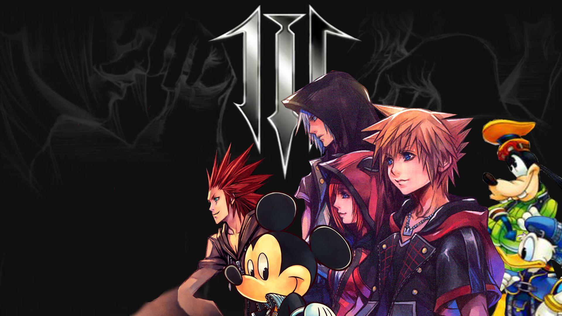 Kingdom Hearts Iii Wallpapers Wallpaper Cave