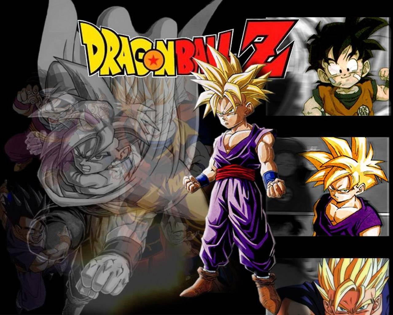 30 Beautiful Dragon Ball Z Gohan Wallpapers HD