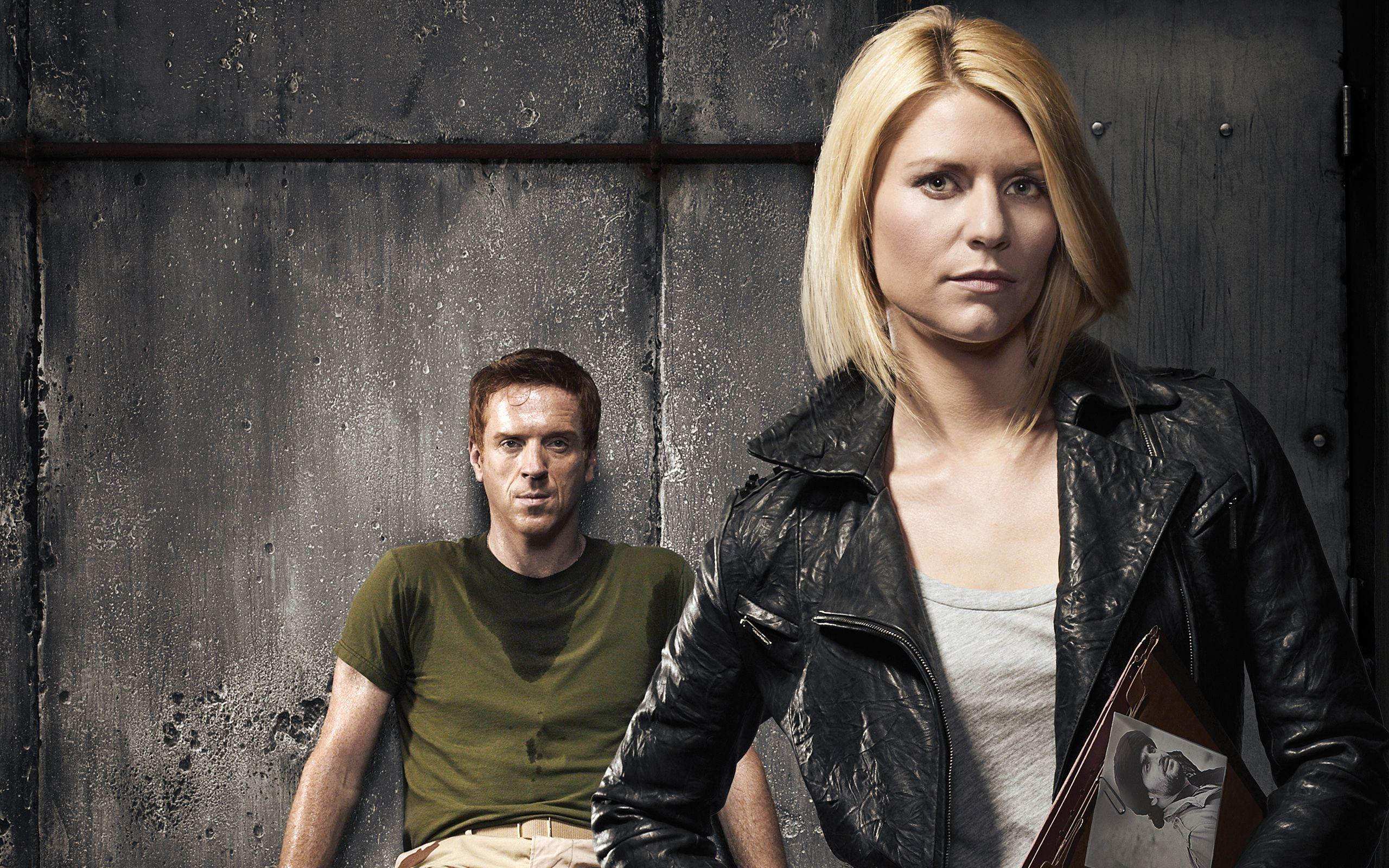 Damian Lewis Claire Danes Homeland Wallpapers
