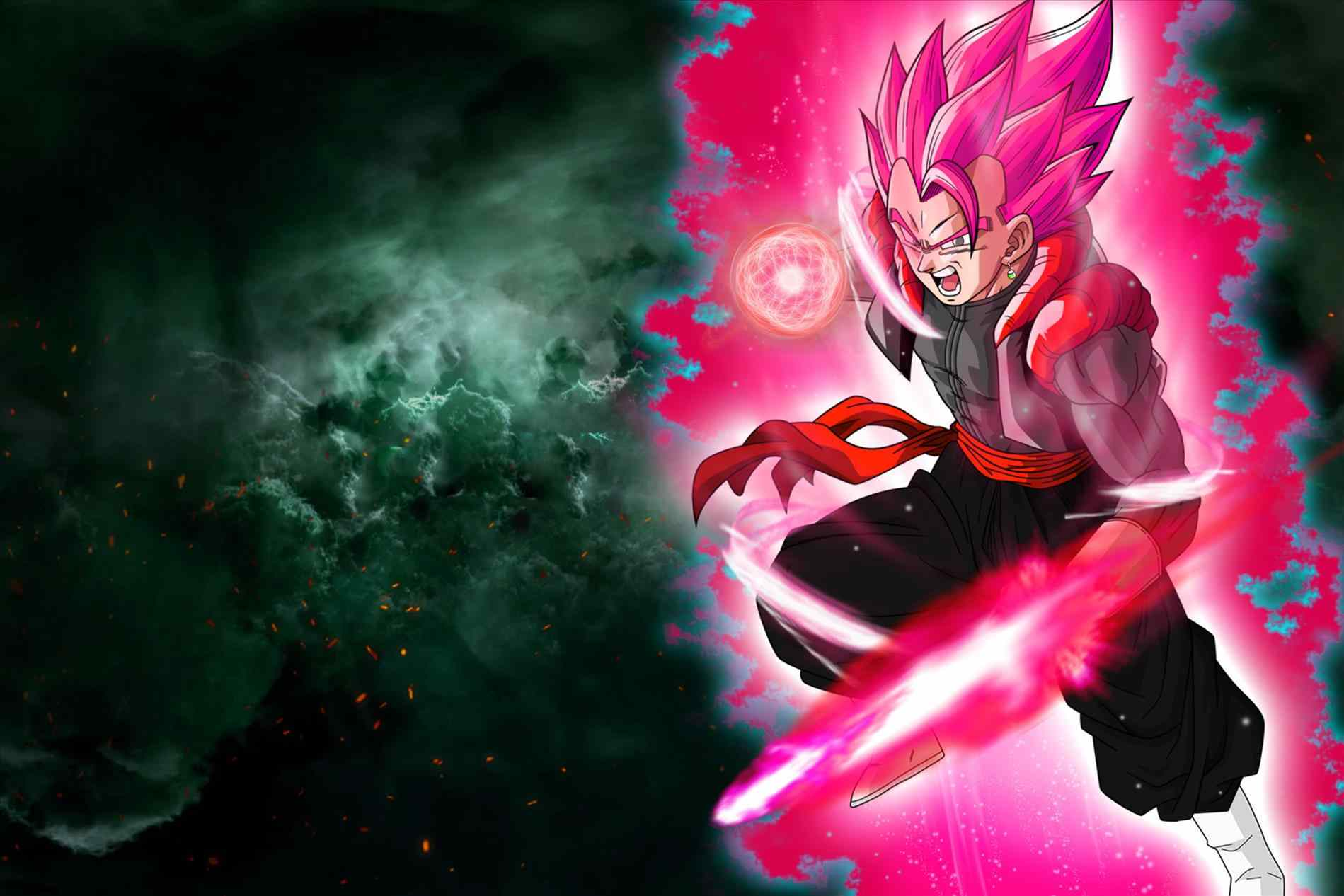 Super Saiyan Rose Wallpaper Hd: Super Saiyan Rose Wallpapers