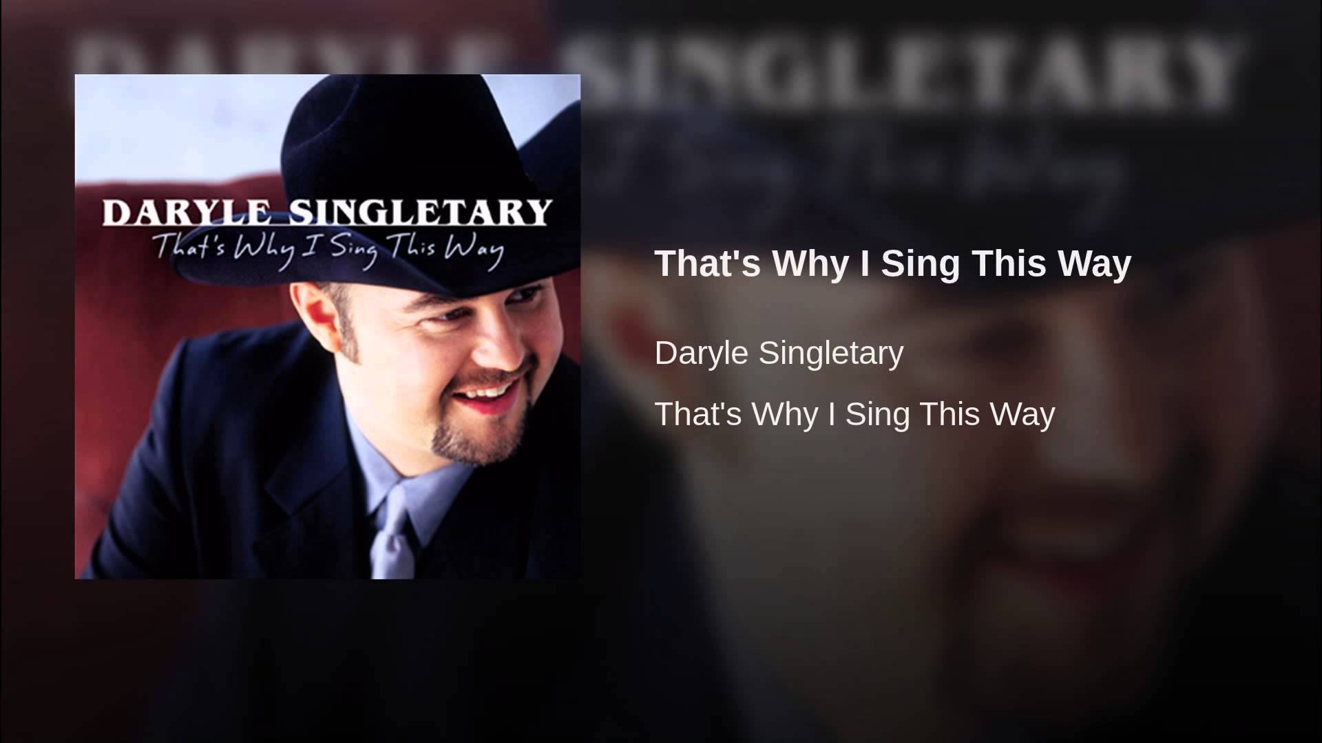 That's Why I Sing This Way - YouTube