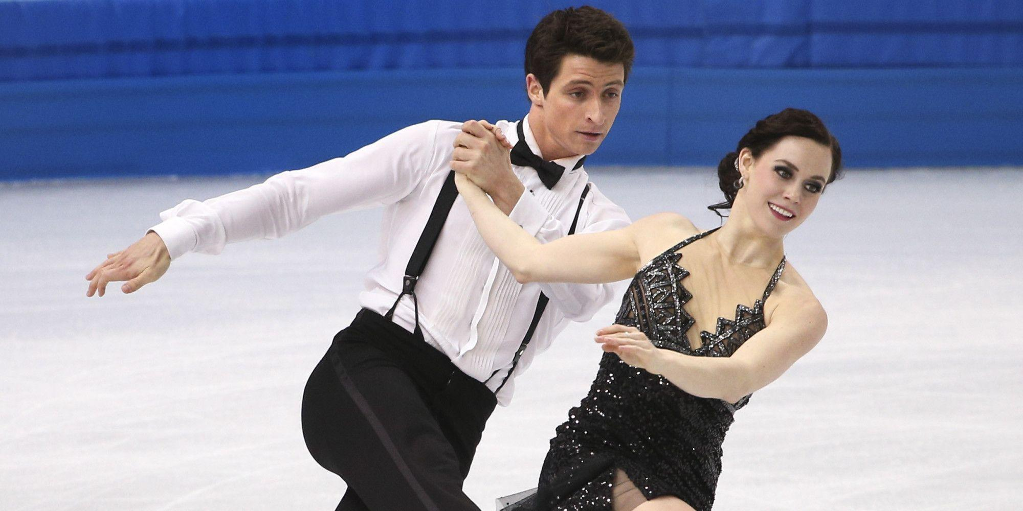 Tessa Virtue and Scott Moir of Canada at the Olympic Games in ...
