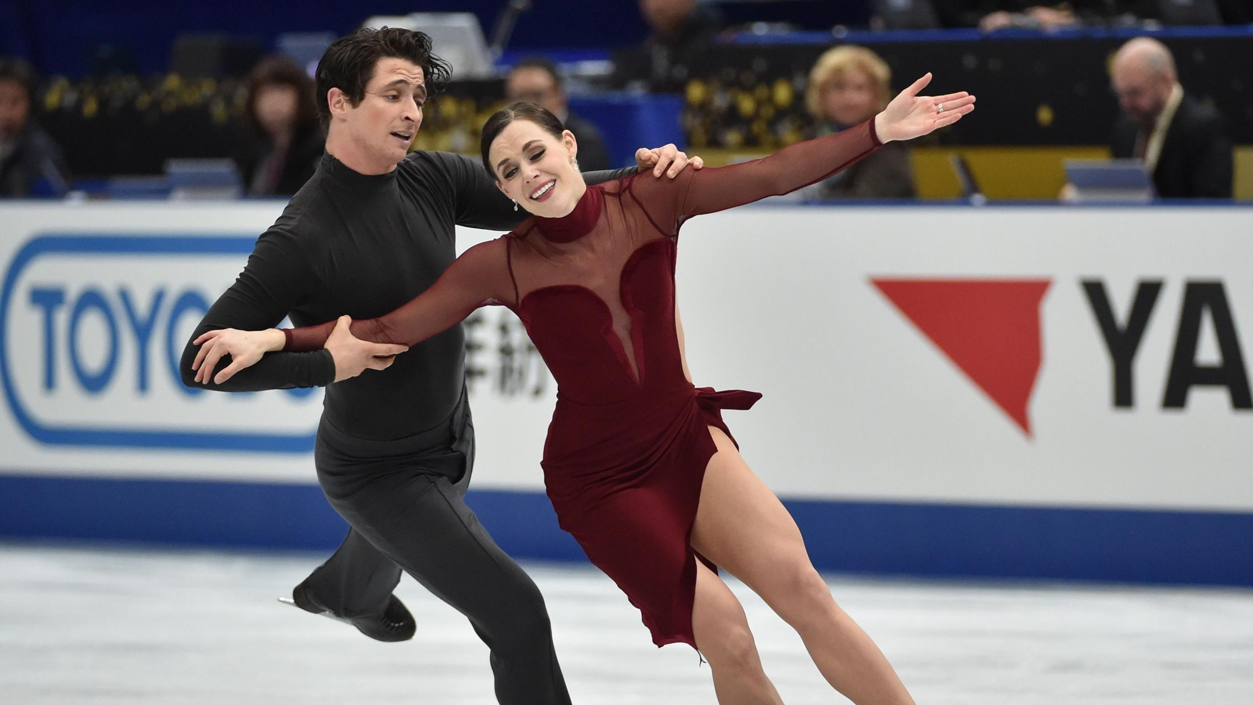Tessa Virtue, Scott Moir glide to victory in Japan, clinch final ...