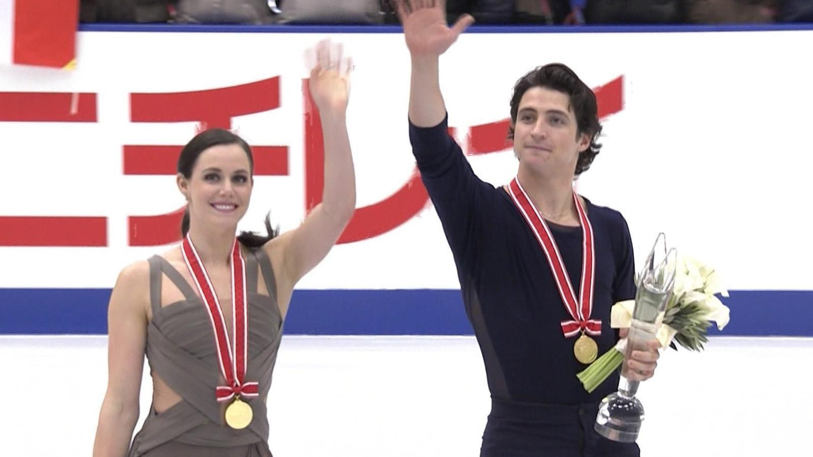VIDEO - Tessa Virtue and Scott Moir break world record score to ...