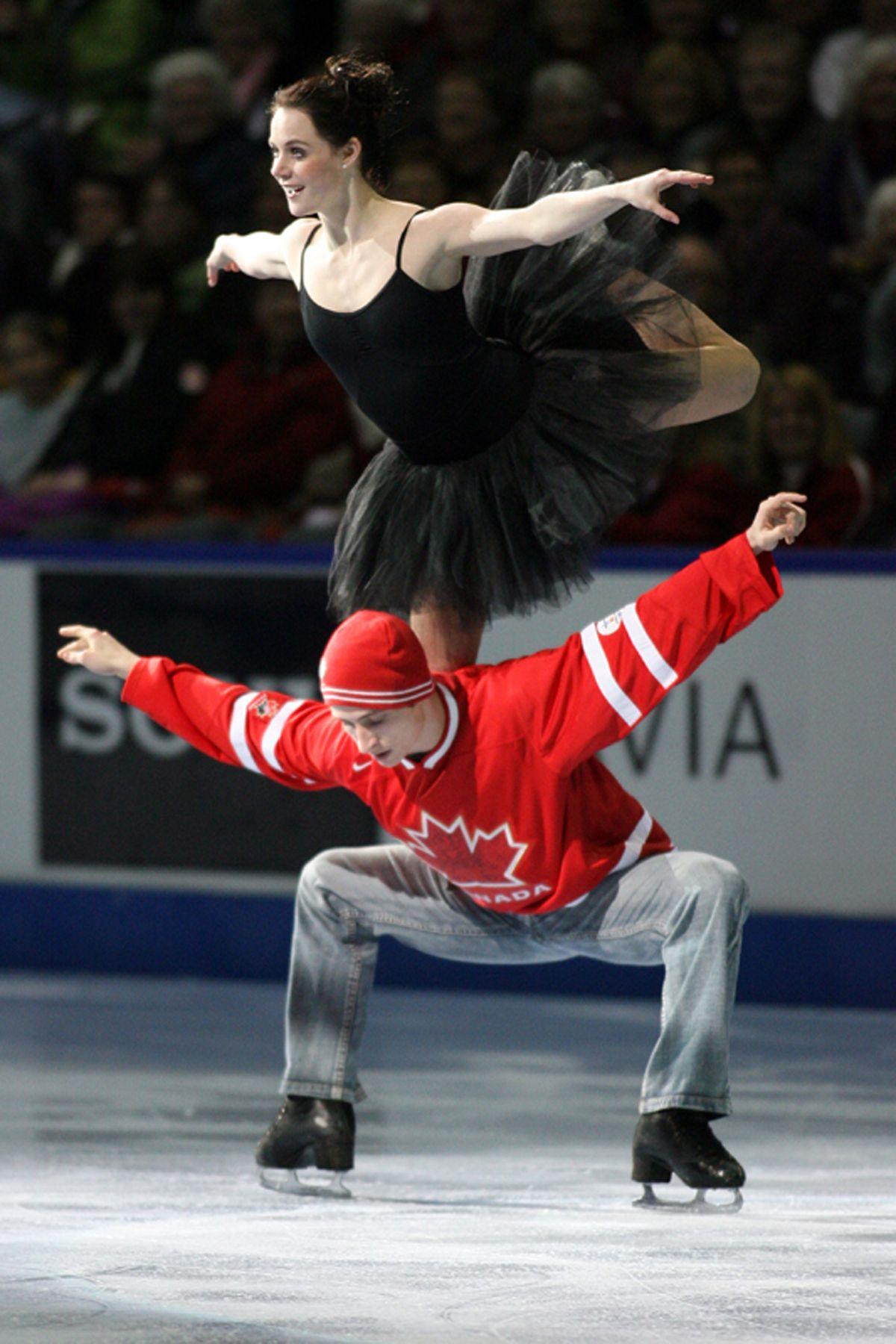Tessa Virtue dress | Tessa and Scott | Pinterest