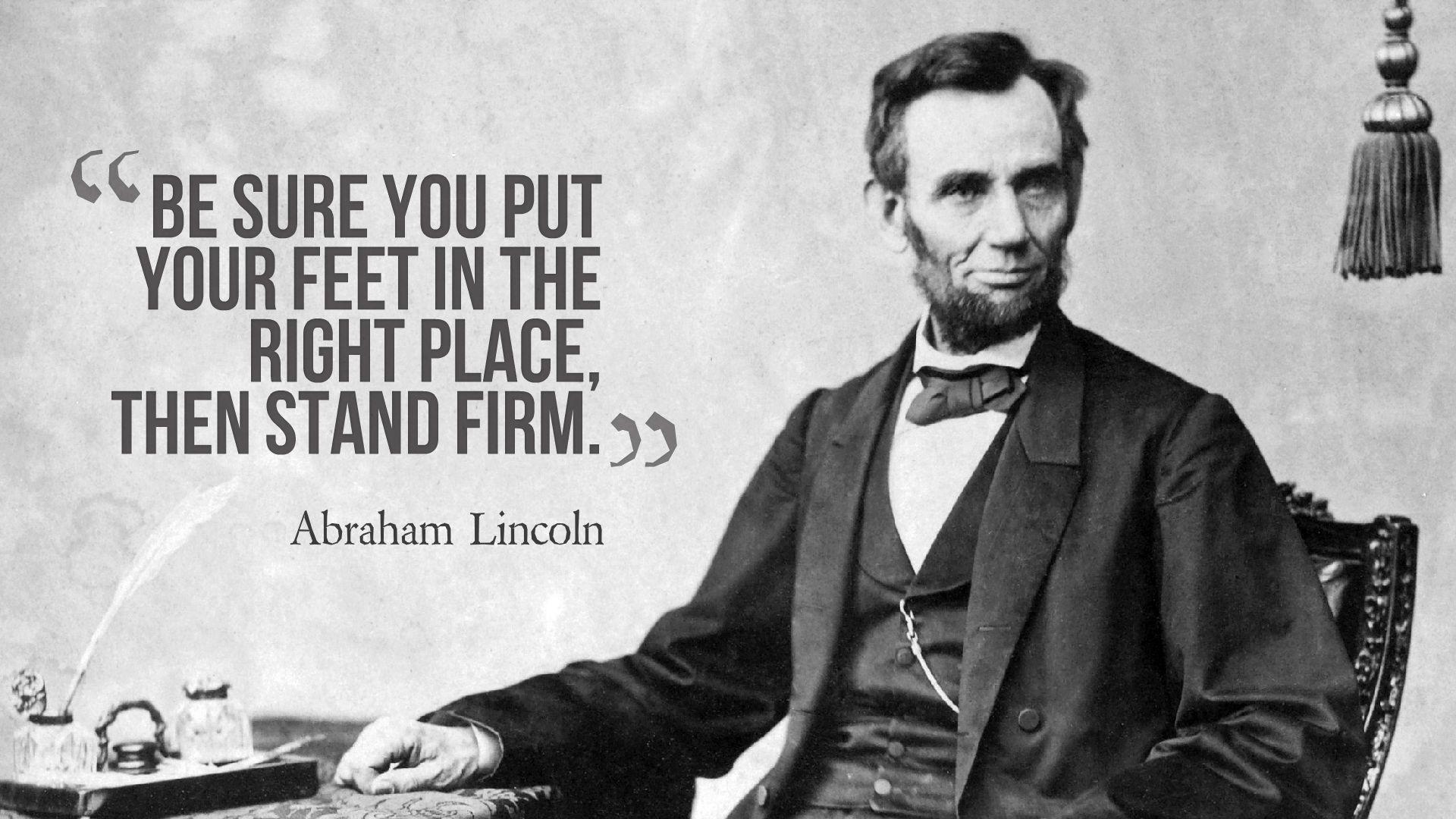 Abraham Lincoln Quotes Background Wallpaper 13771 - Baltana