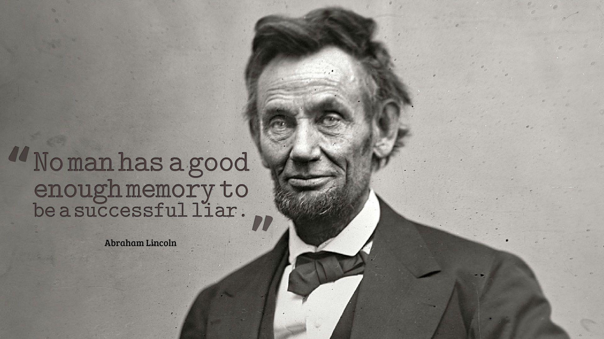 Abraham Lincoln Quotes Wallpaper HD 13775 - Baltana