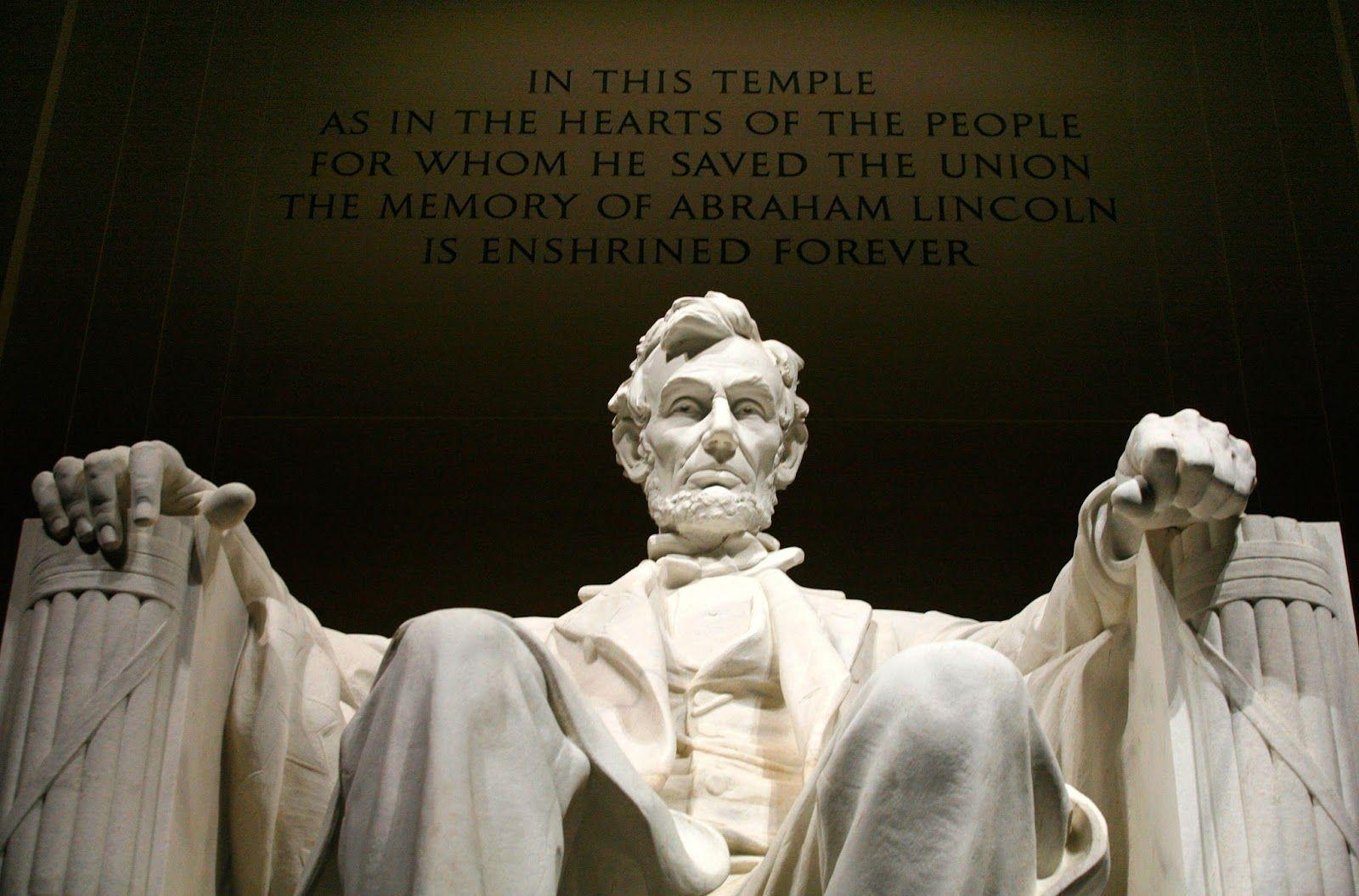 Lincoln Memorial In This Temple 1600×1055 #224665 HD Wallpaper Res ...