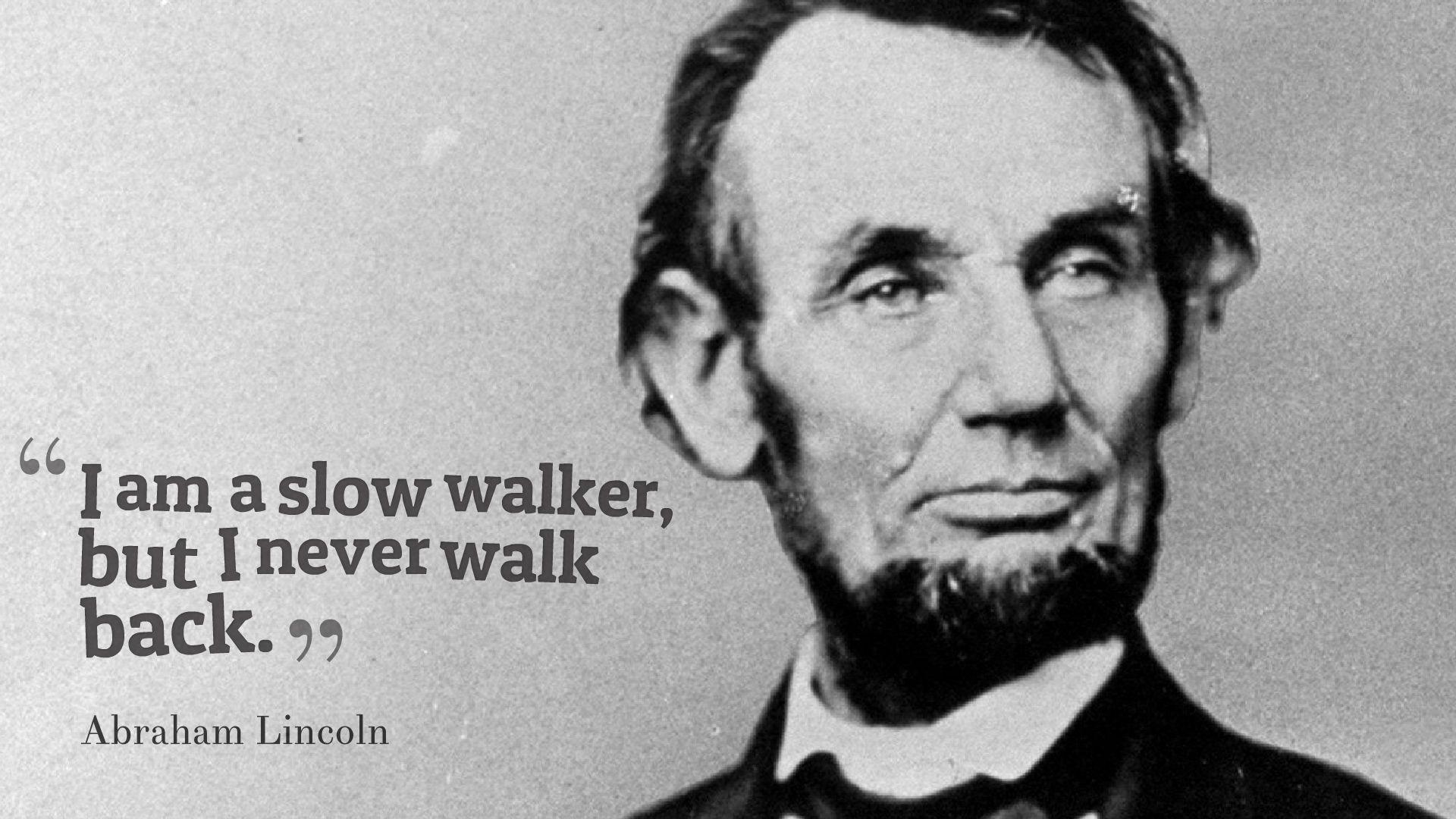 Abraham Lincoln Quotes Desktop Wallpaper 13772 - Baltana