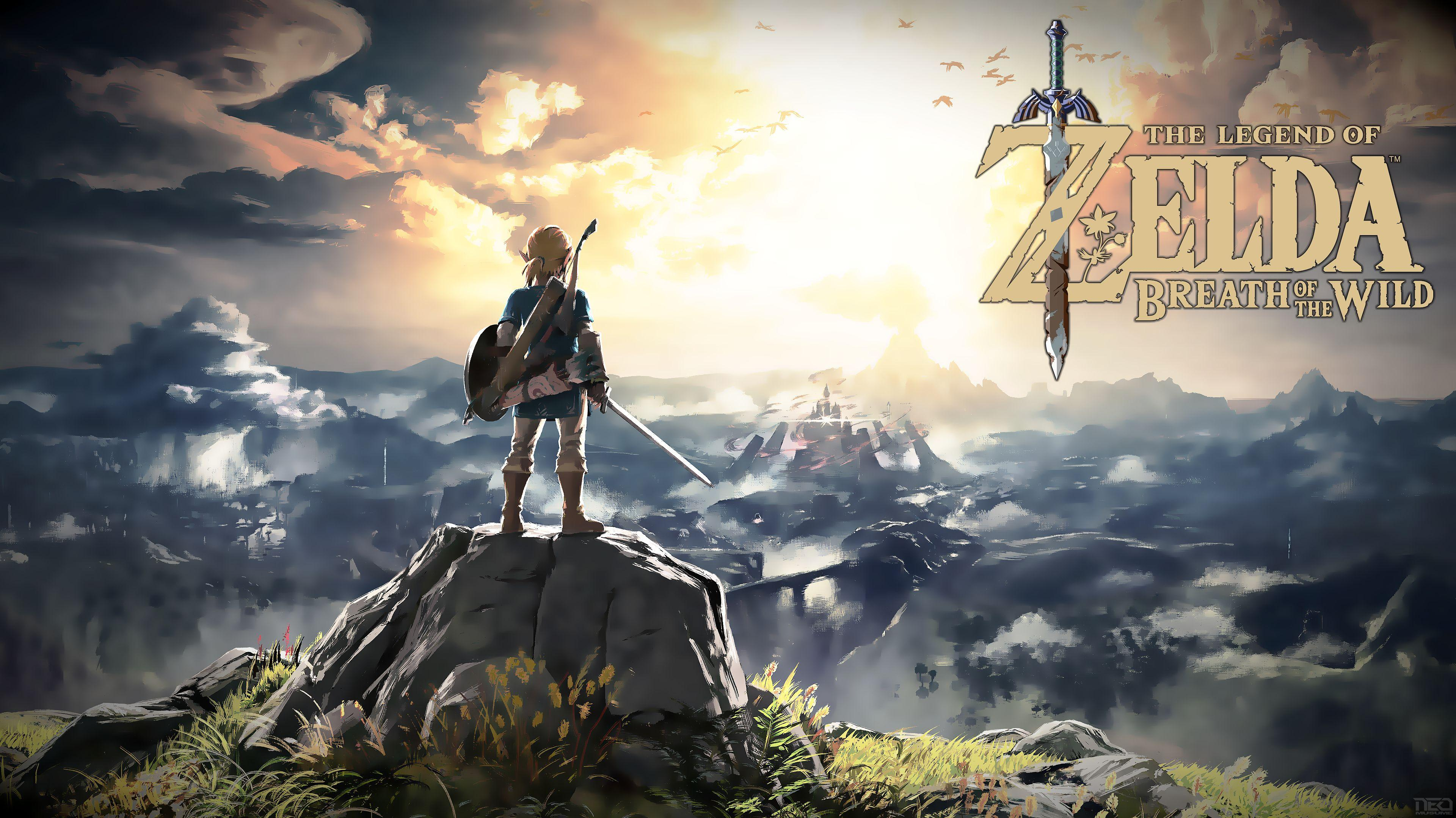 Breath Of The Wild Backgrounds: Legend Of Zelda: Breath Of The Wild Wallpapers