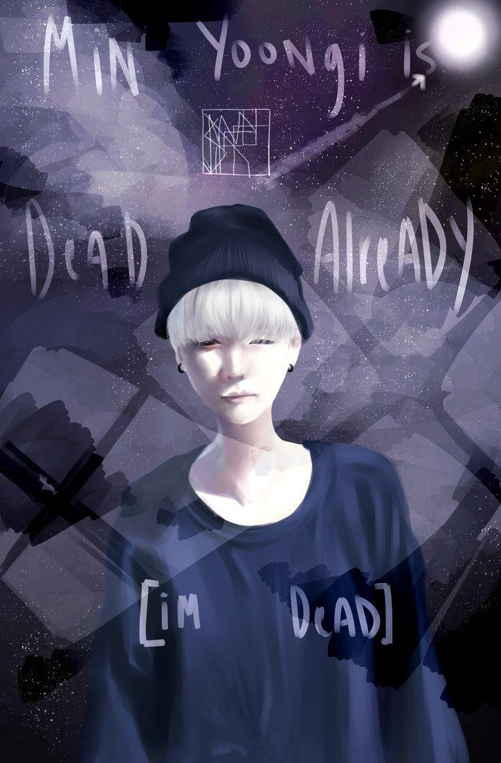Min Yoongi a.k.a. Agust D by PhobicWizard on DeviantArt