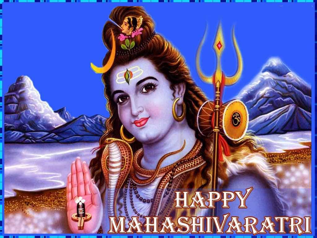 50+ Most Beautiful Maha Shivratri Greeting Pictures