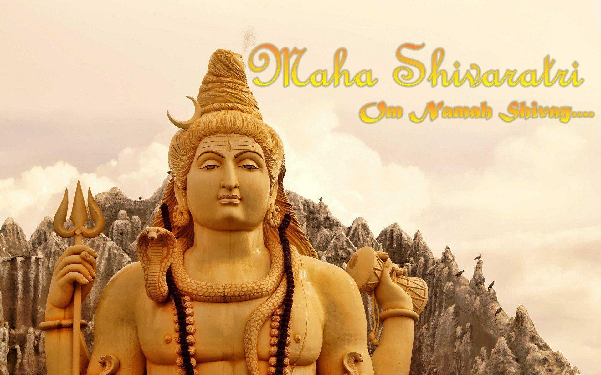 Maha Shivaratri Whatsapp Statue Wallpaper