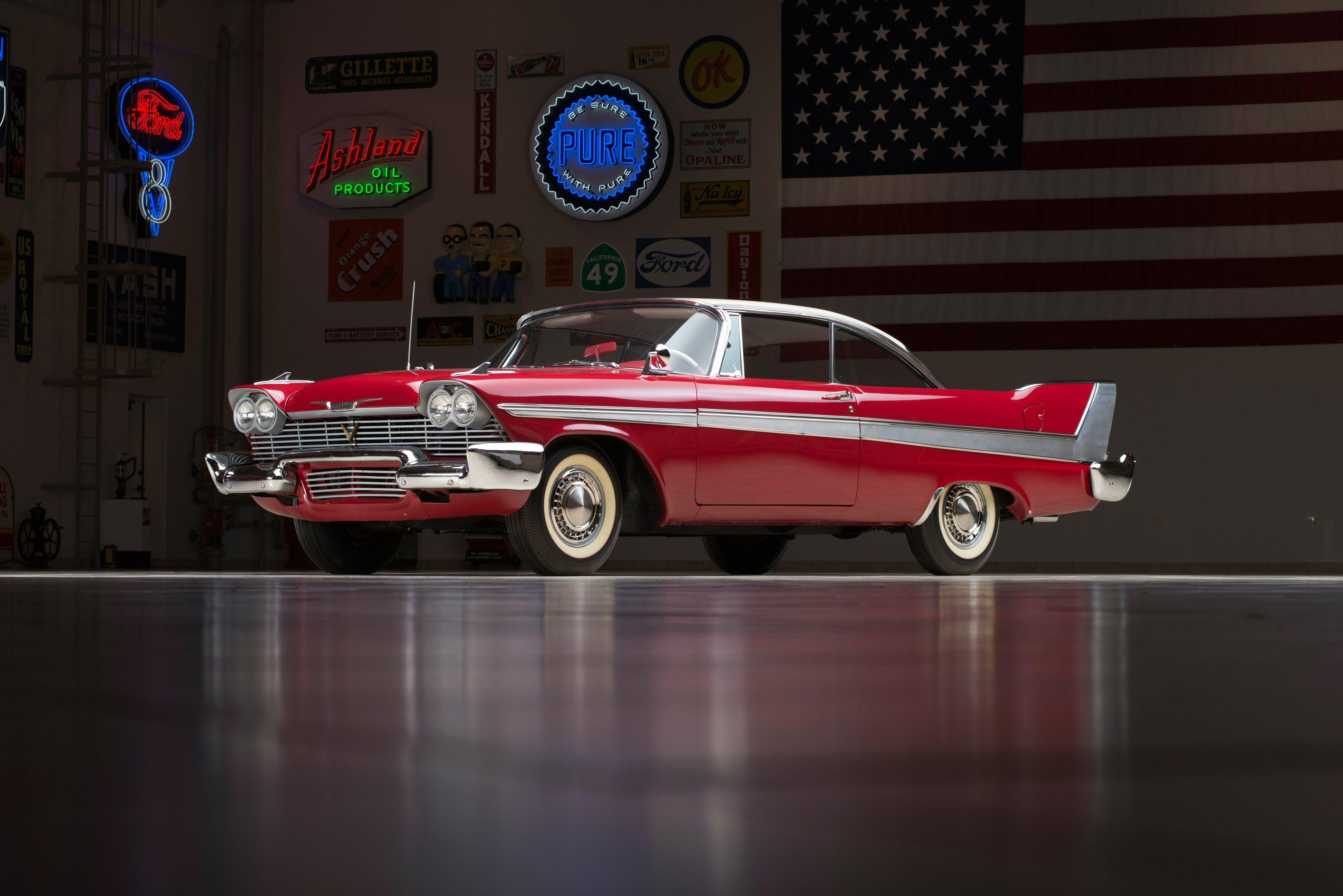 1958 Plymouth Fury Sport Coupe (2-3) retro luxury wallpaper ...
