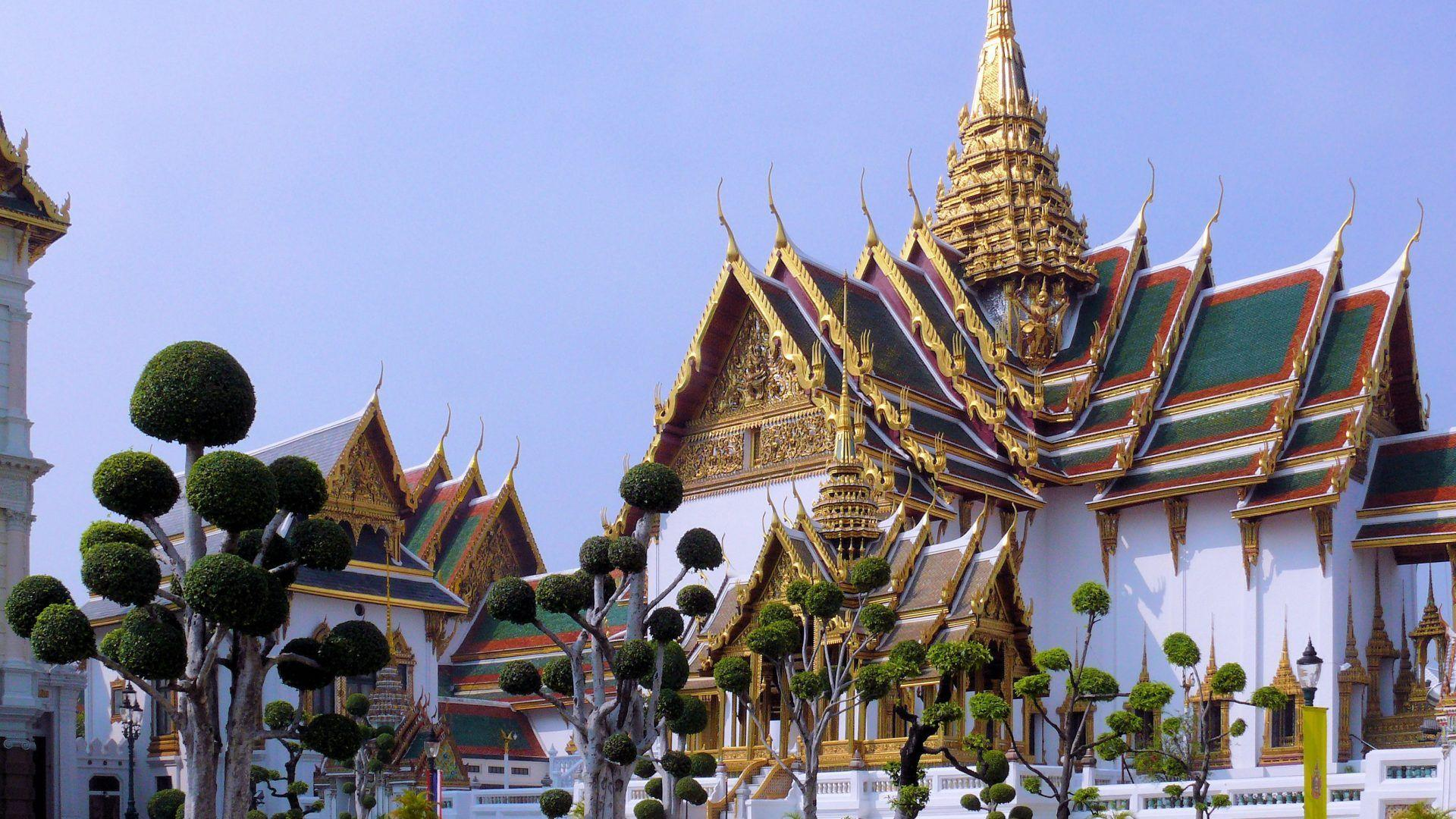 Other: Grand Palace Bangkok Asian Trimming Royalty Residence Gold ...