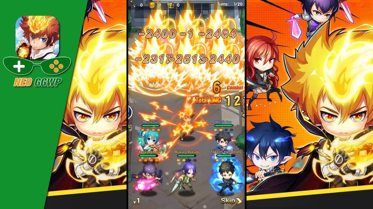 Vongola Battle (Android/iOS) - Gameplay Frist Start - YouTube