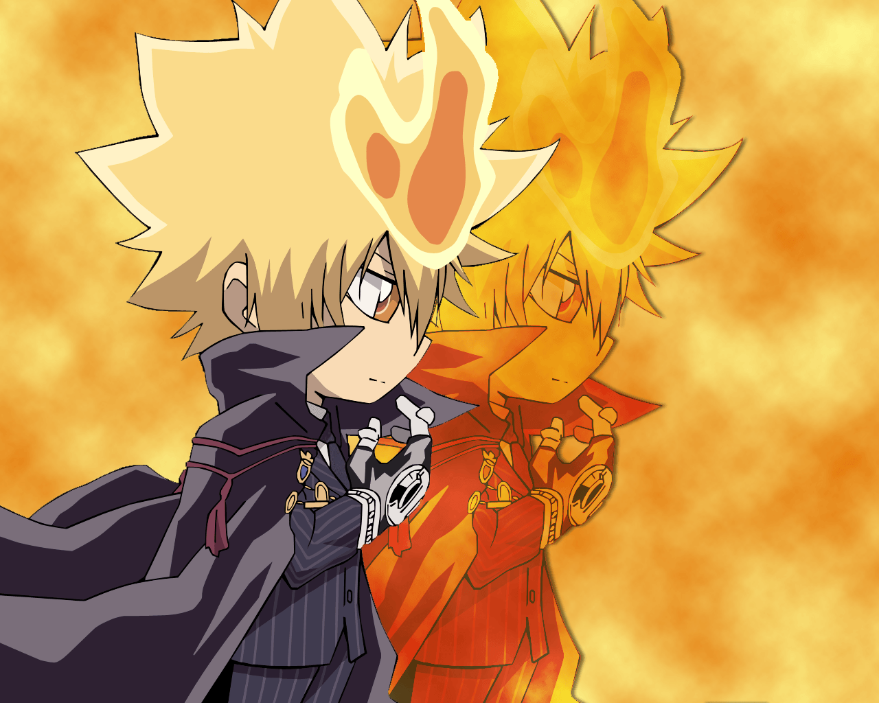 Vongola the First Wallpaper by hono-san on DeviantArt