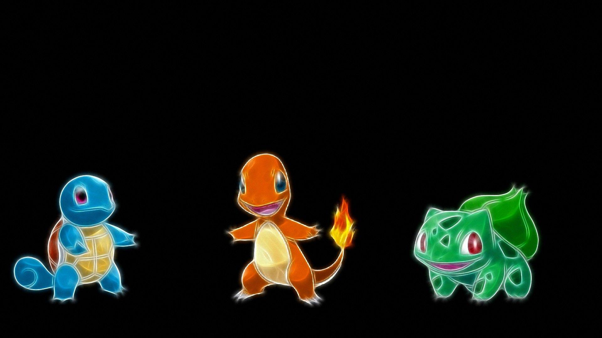 Cartoon Bulbasaur Squirtle Charmander HD Wallpapers