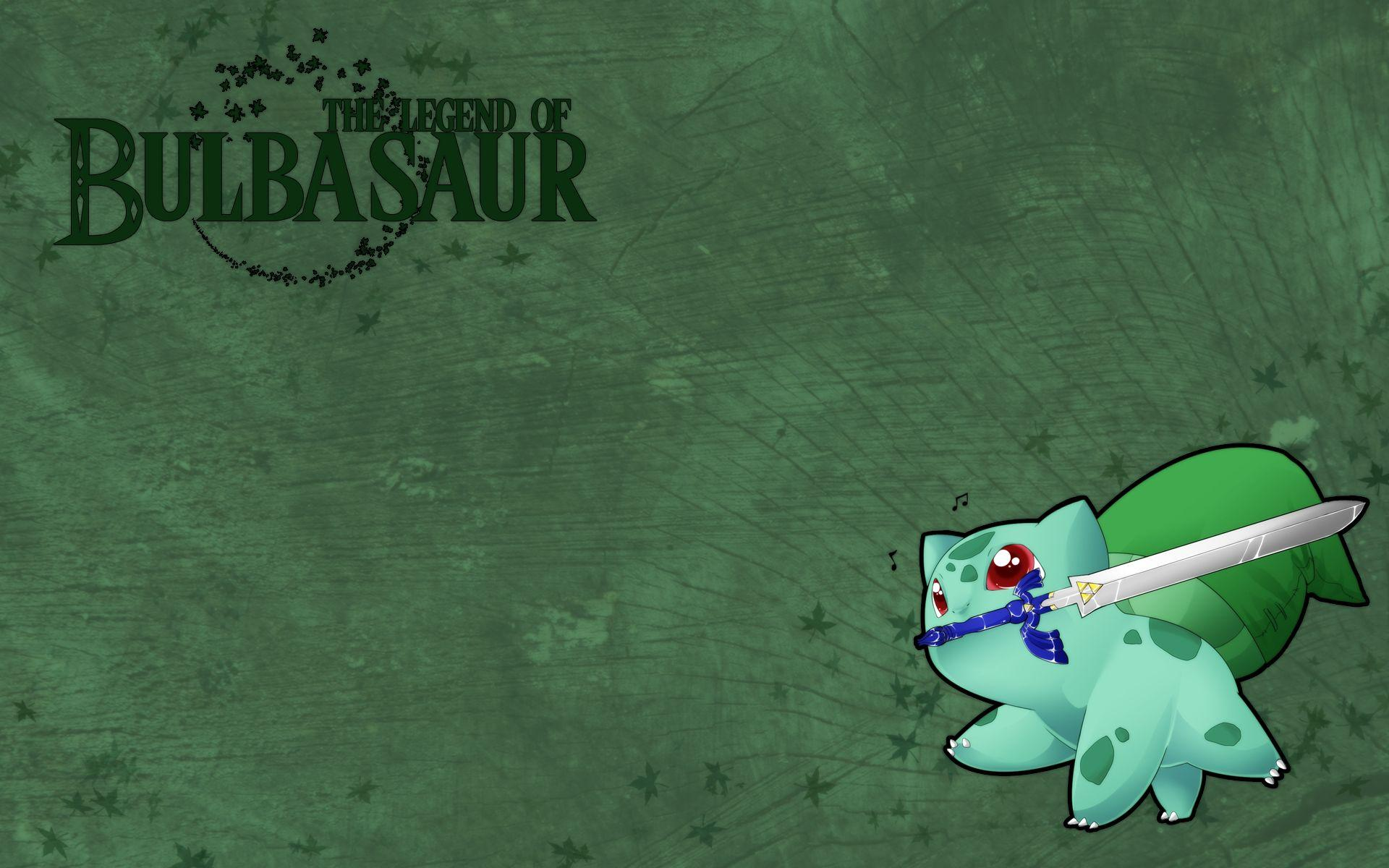 The Legend of Bulbasaur Full HD Wallpaper and Background Image ...