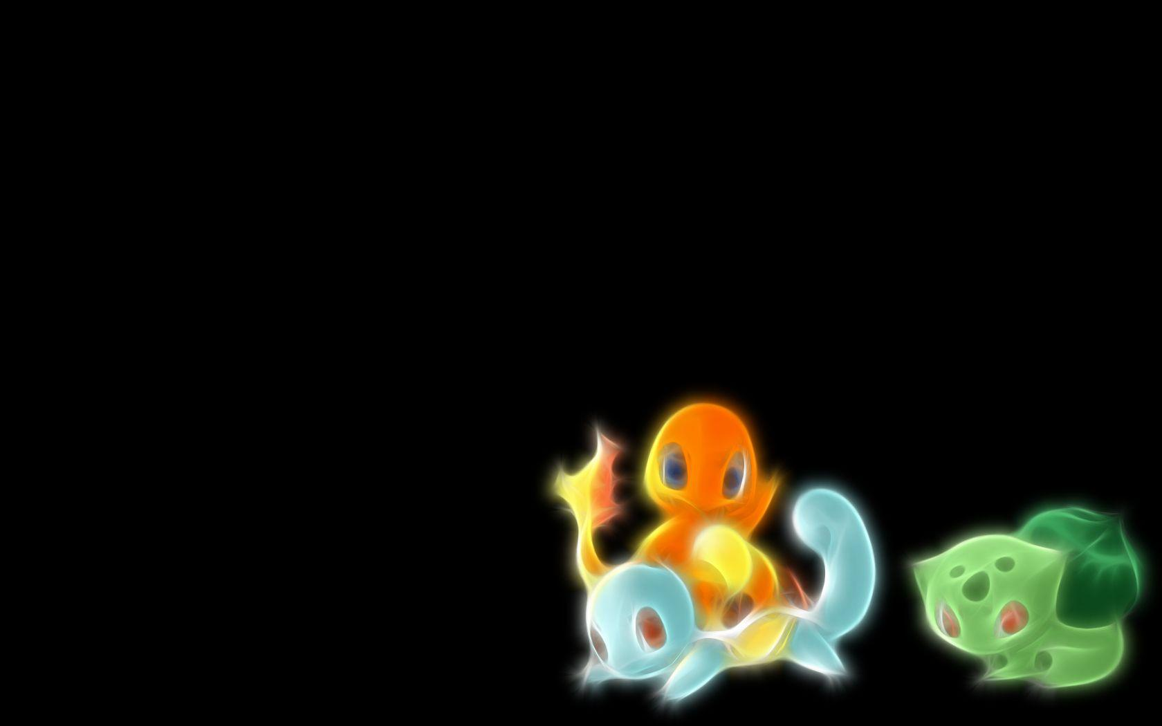 Pokemon Bulbasaur Squirtle simple background Charmander wallpaper ...