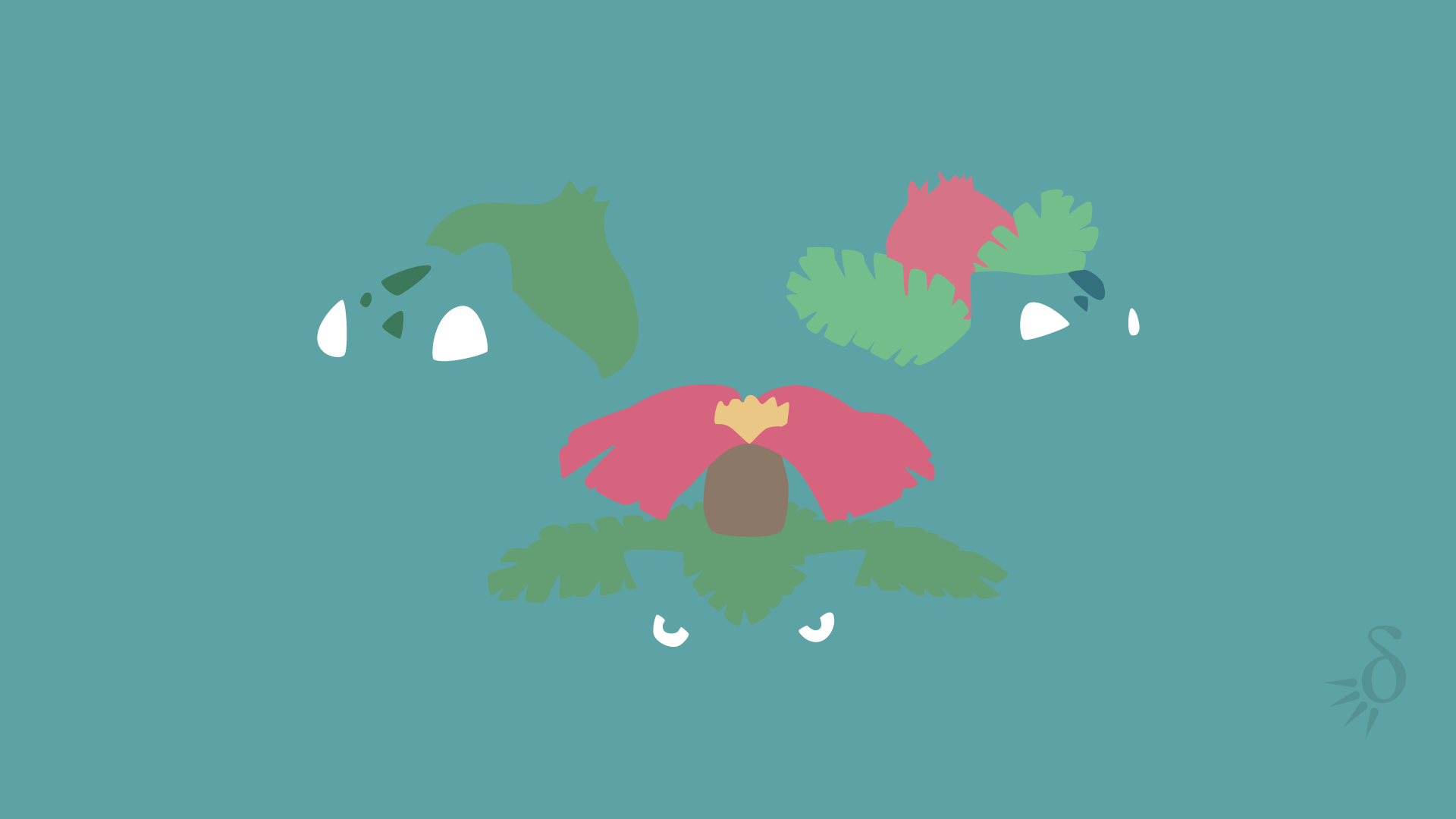 Bulbasaur Minimalist Ivysaur | Collection 10+ Wallpapers