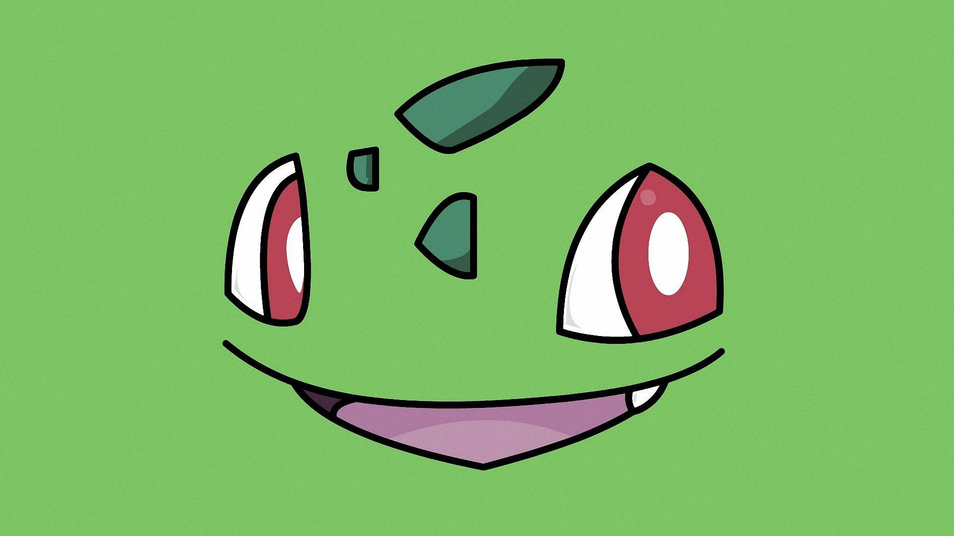 Pokemon Bulbasaur Simple Cartoon Wallpapers