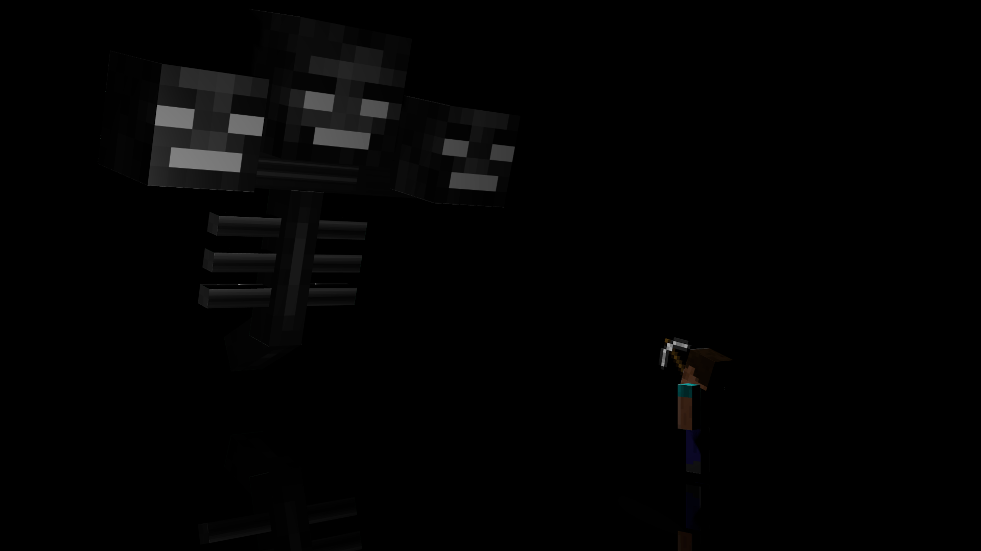 Minecraft Wither Wallpapers Wallpaper Cave