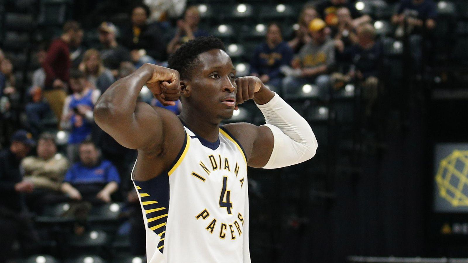 WATCH: Victor Oladipo does 10 push