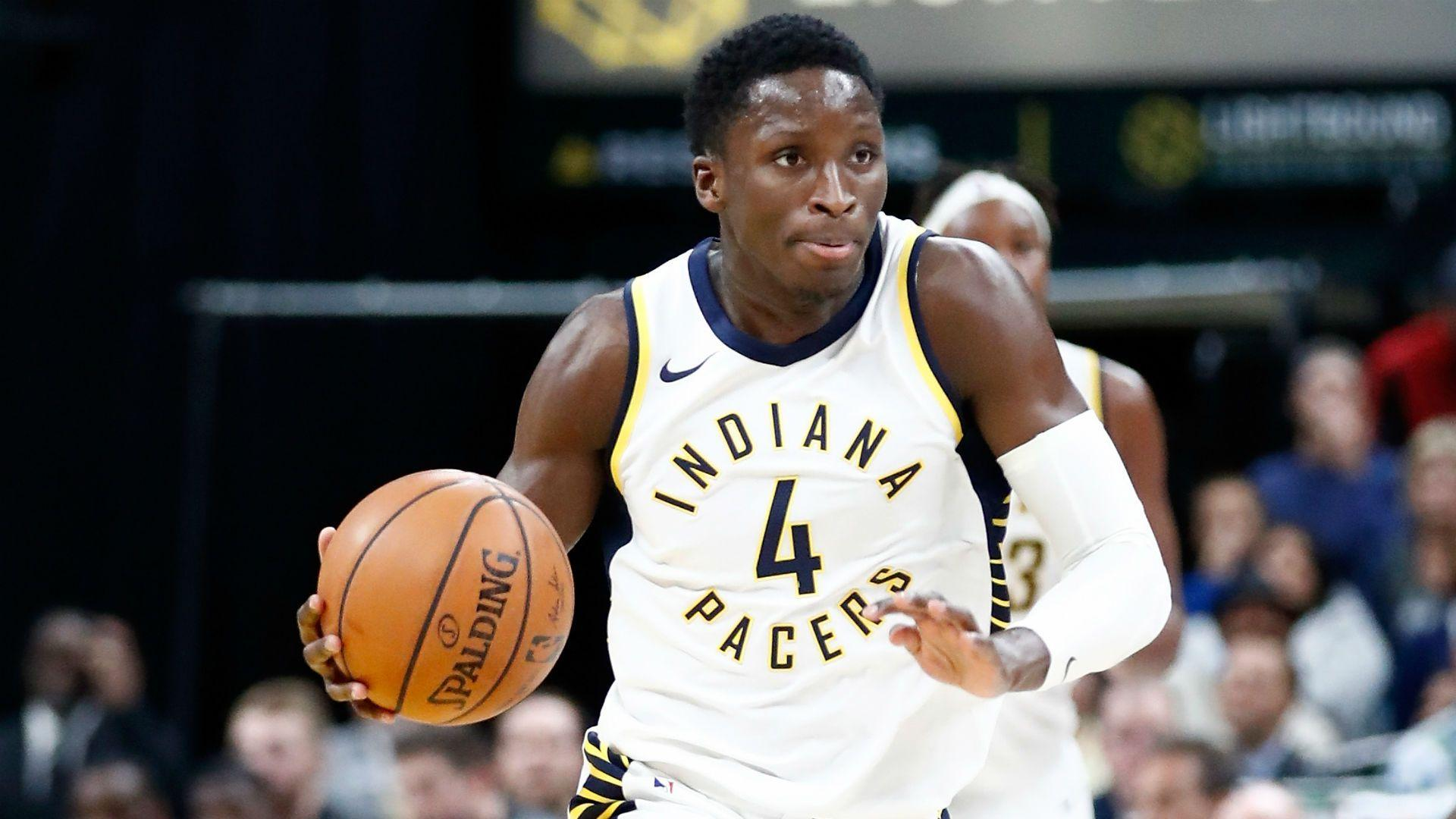 NBA wrap: Victor Oladipo's career performance keeps Pacers rolling