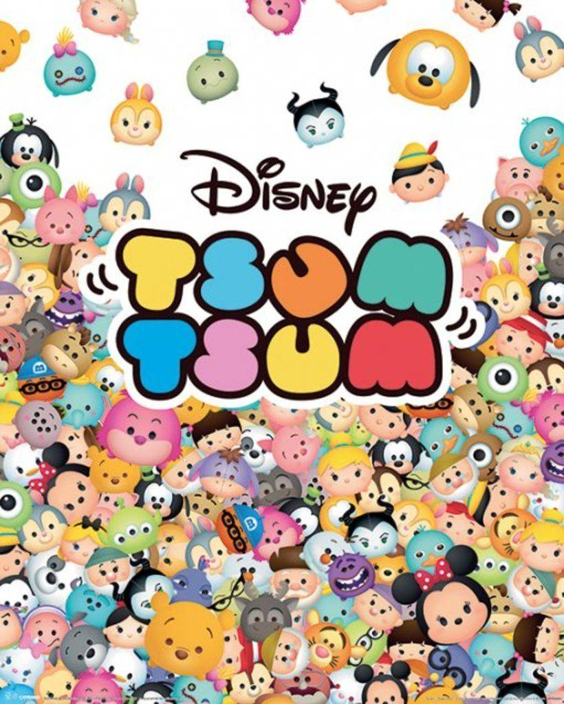 This is an image of Delicate Tsum Tsum Disney