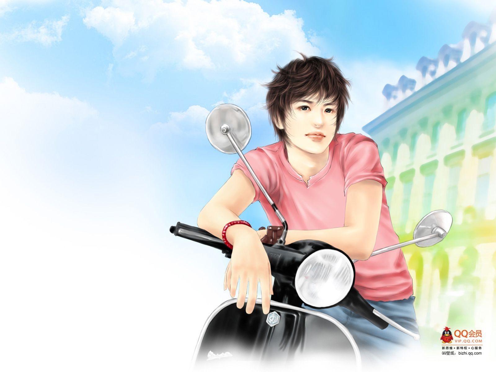 Cool Boy Wallpapers Cartoon Anime Guy Wallpapers Group
