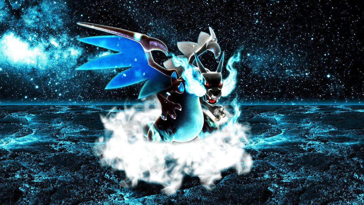 Mega Charizard X Wallpapers 2 by Glench