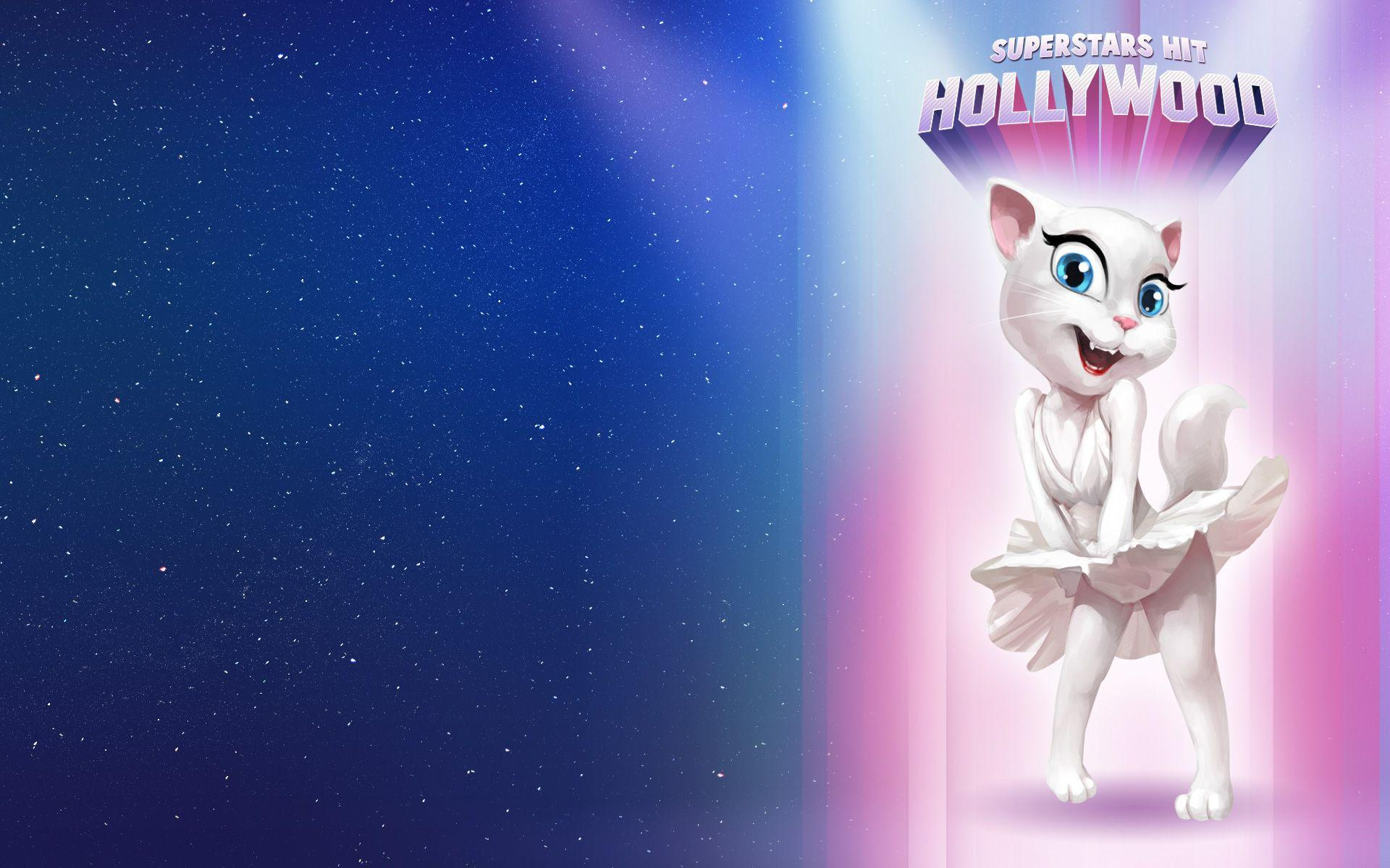 Talking Angela HD Wallpapers Pictures