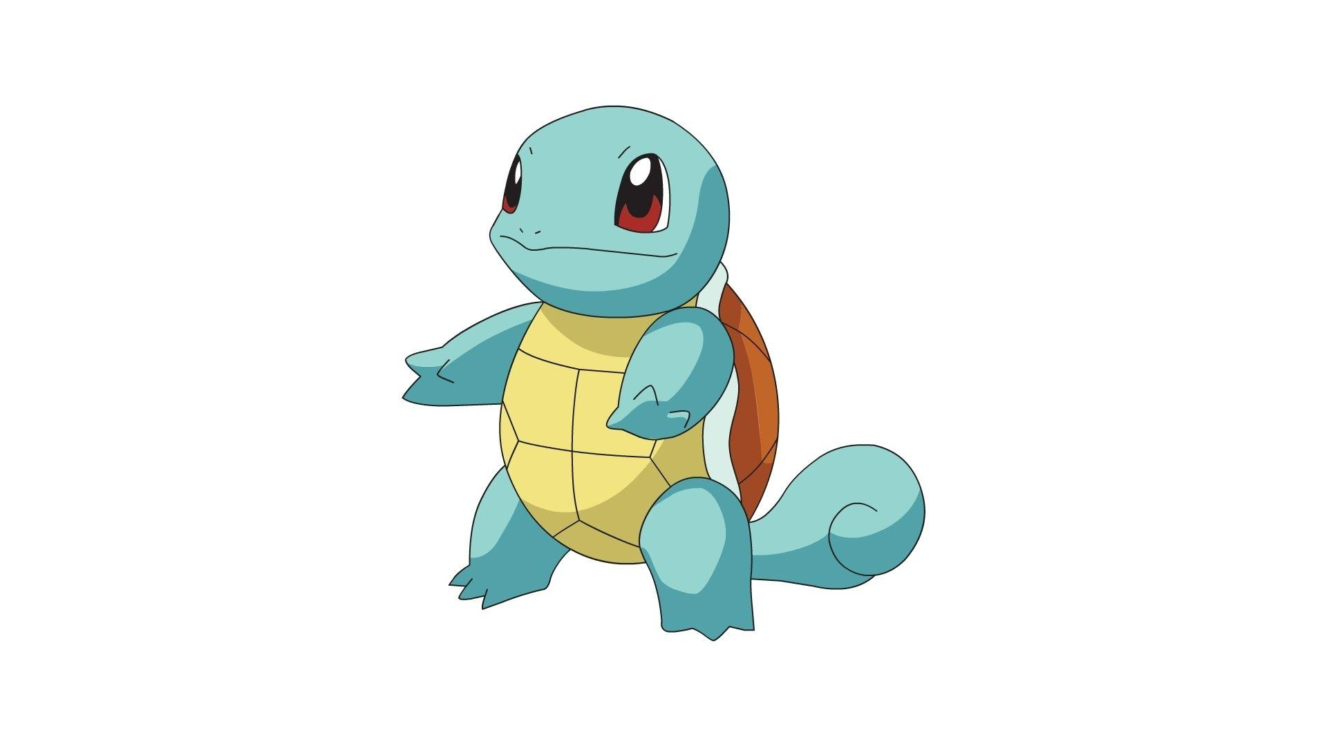 pokemon squirtle simple background white background 1920x1080 ...