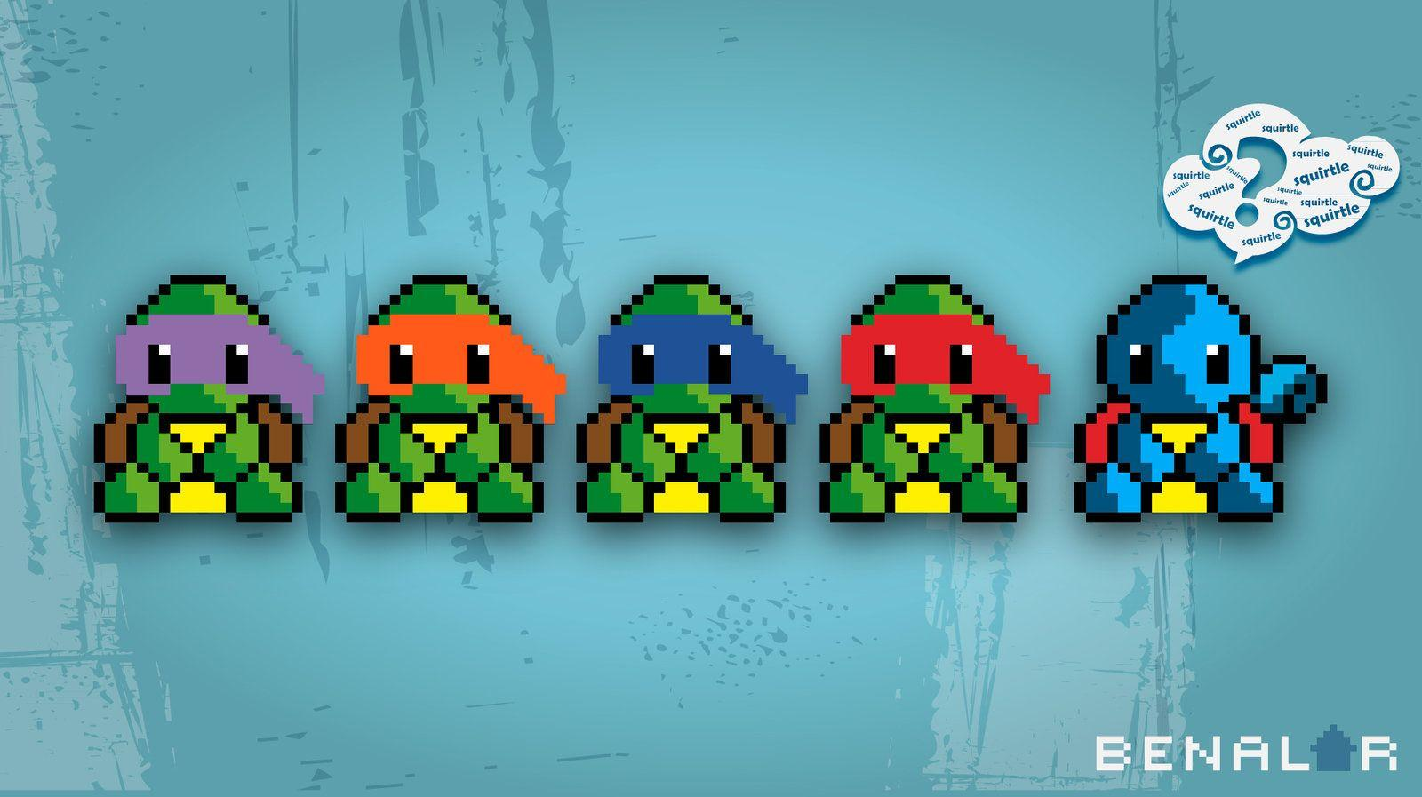 tmnt squirtle? - Wallpaper by pericles1 on DeviantArt