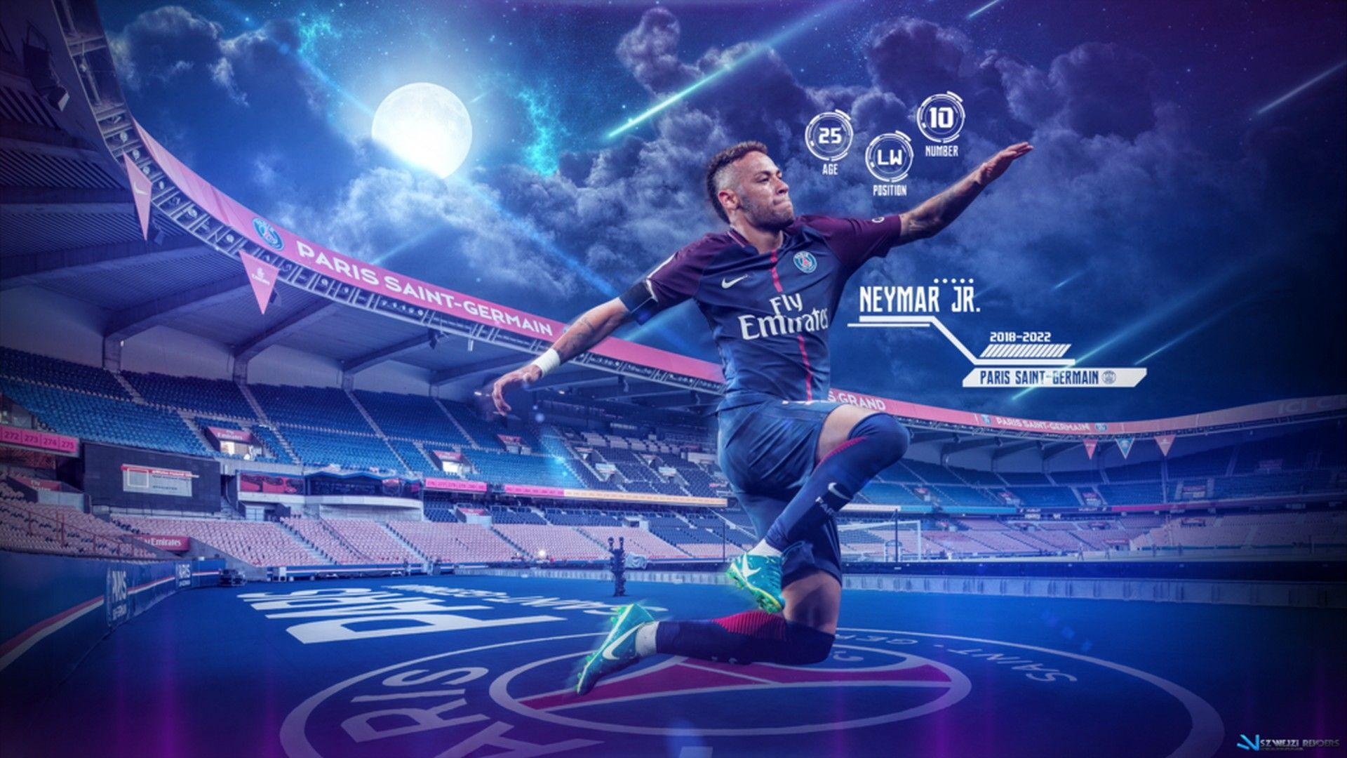 Neymar PSG HD Wallpaper 2018