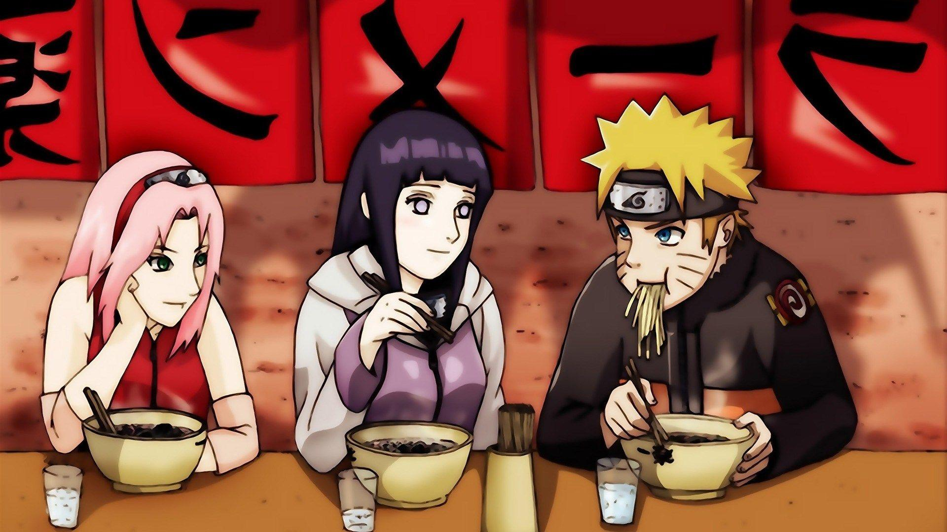 Naruto Ramen Shop Wallpaper