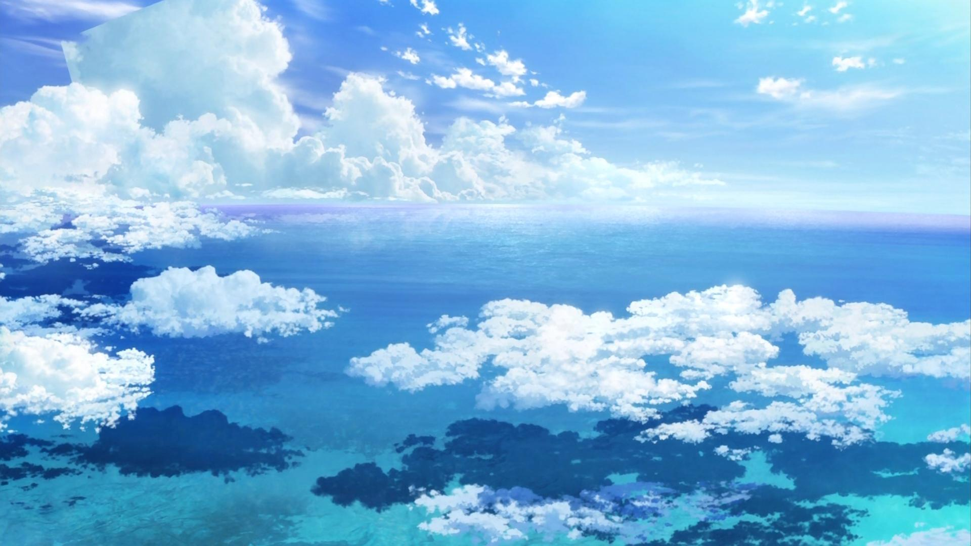 16 Anime Wallpaper Sky Iphone Download