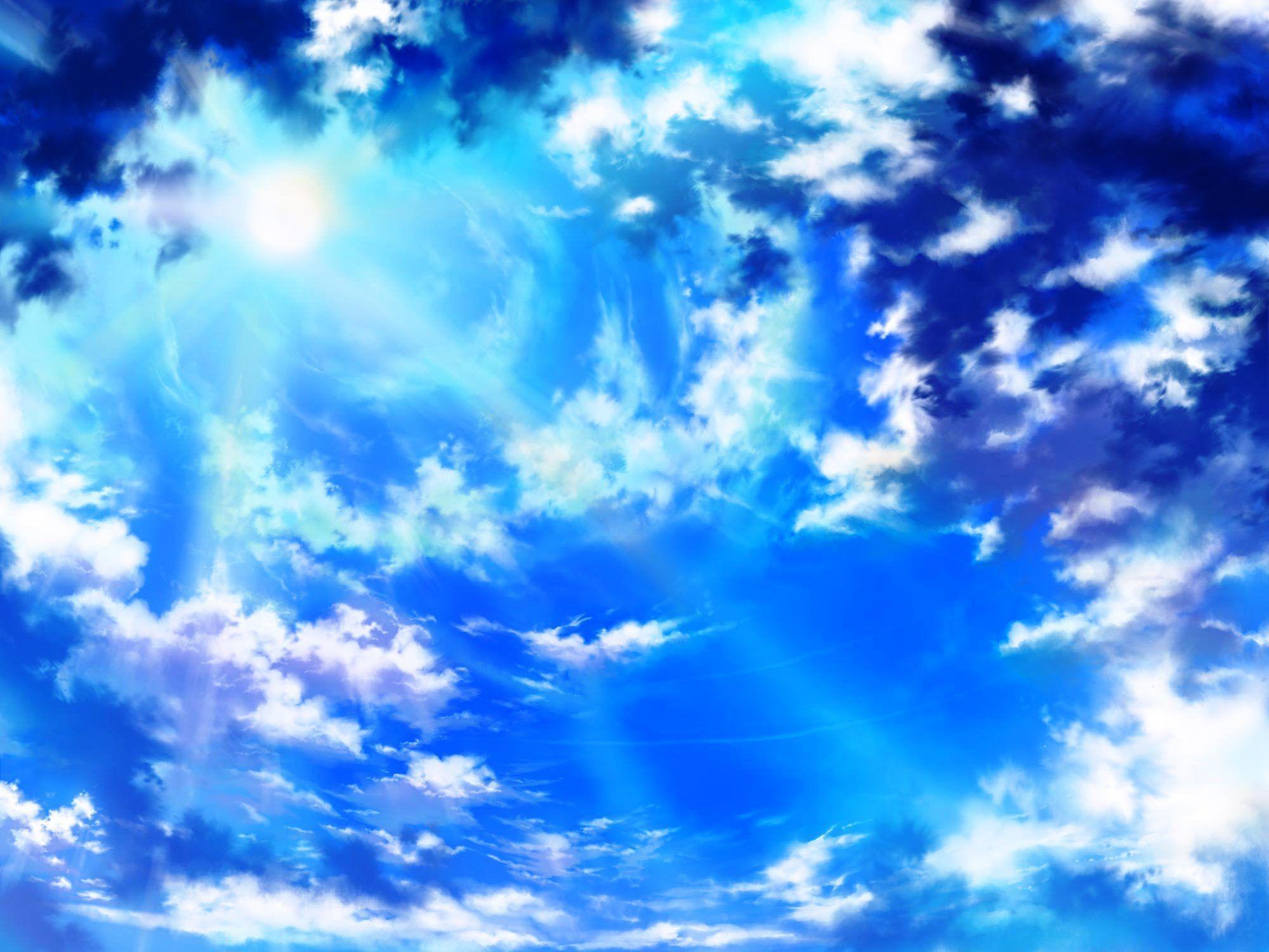 sky anime