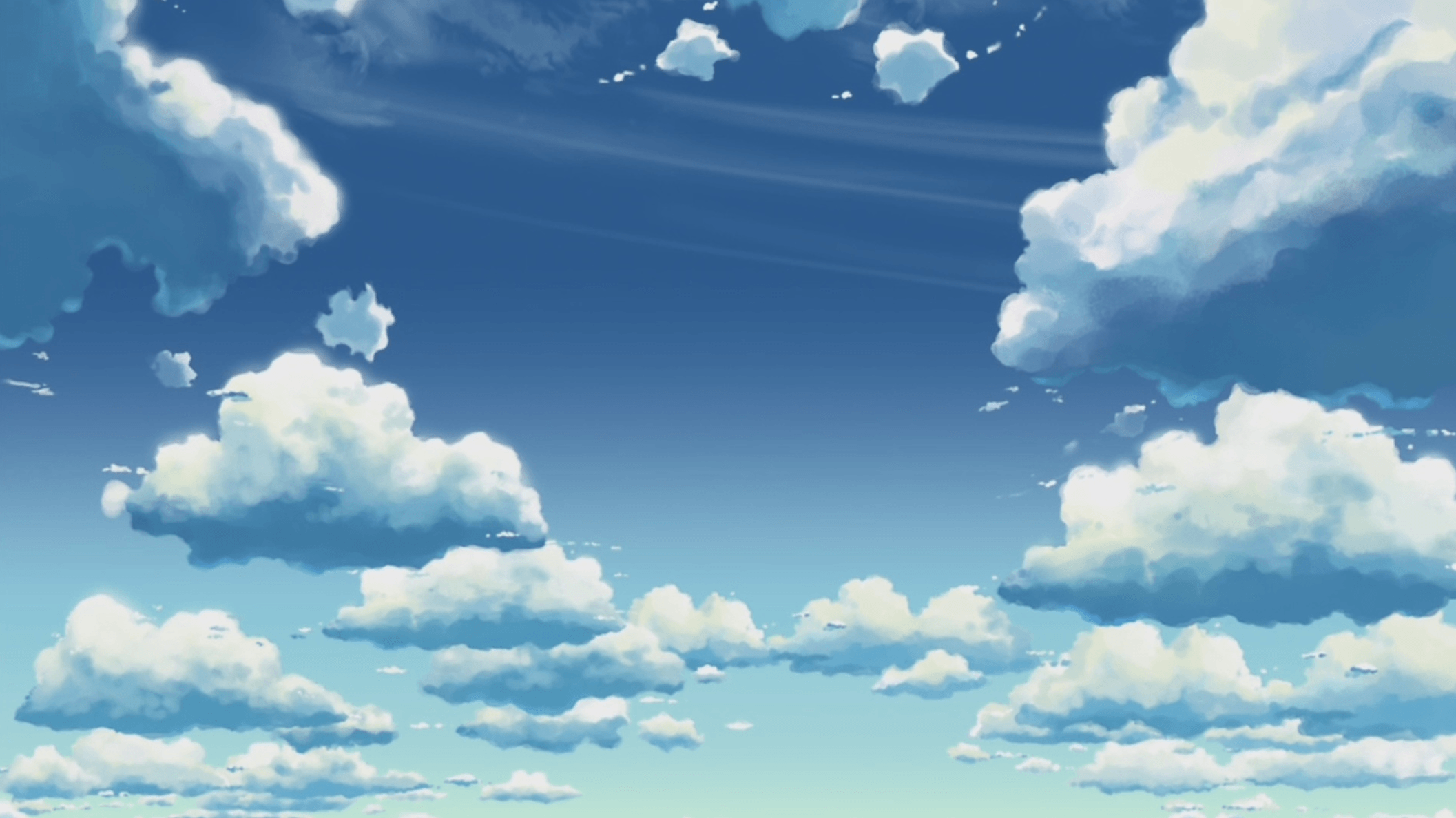 Anime sky wallpapers wallpaper cave - Anime images download ...