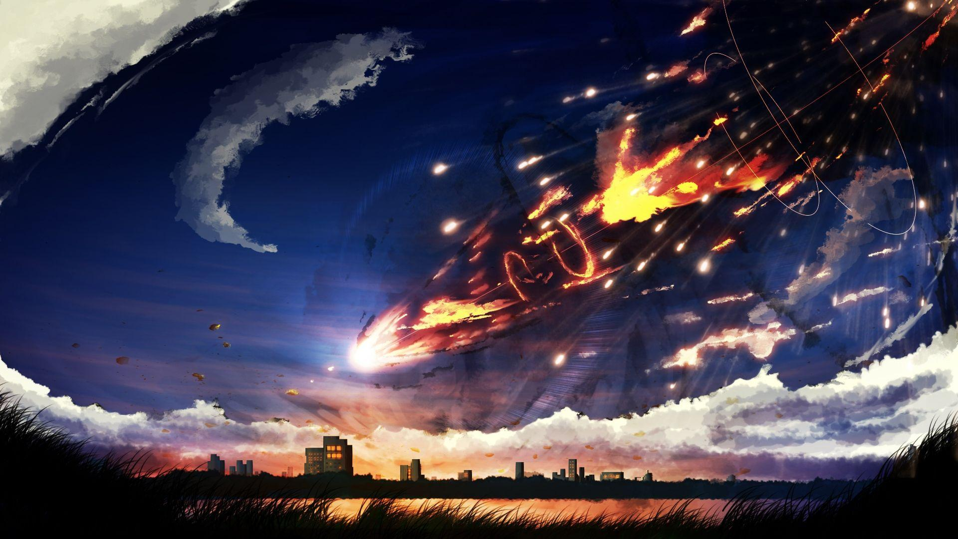Anime Sky Wallpapers - Wallpaper Cave
