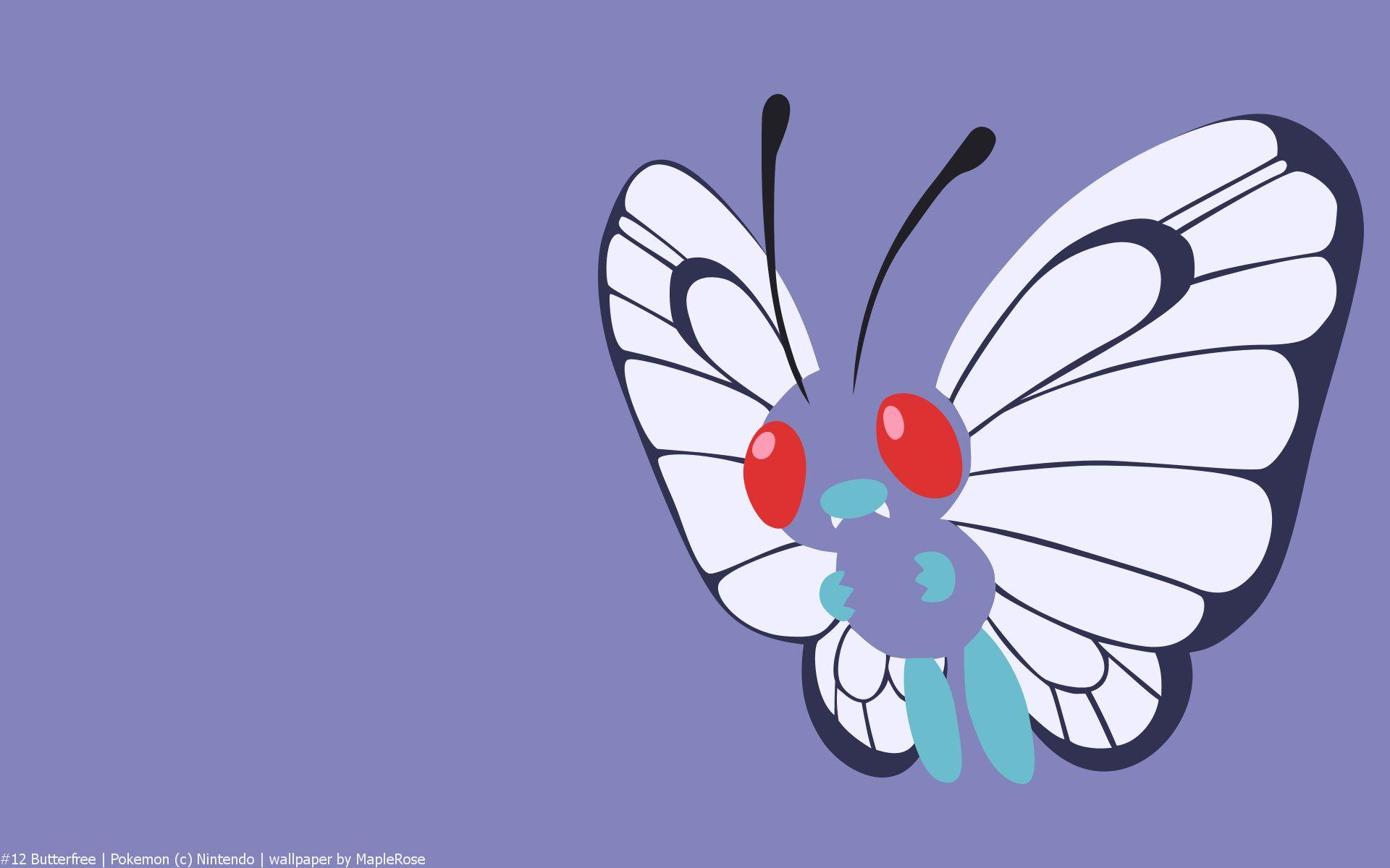 Butterfree Pokemon HD Wallpaper - Free HD wallpapers, Iphone ...
