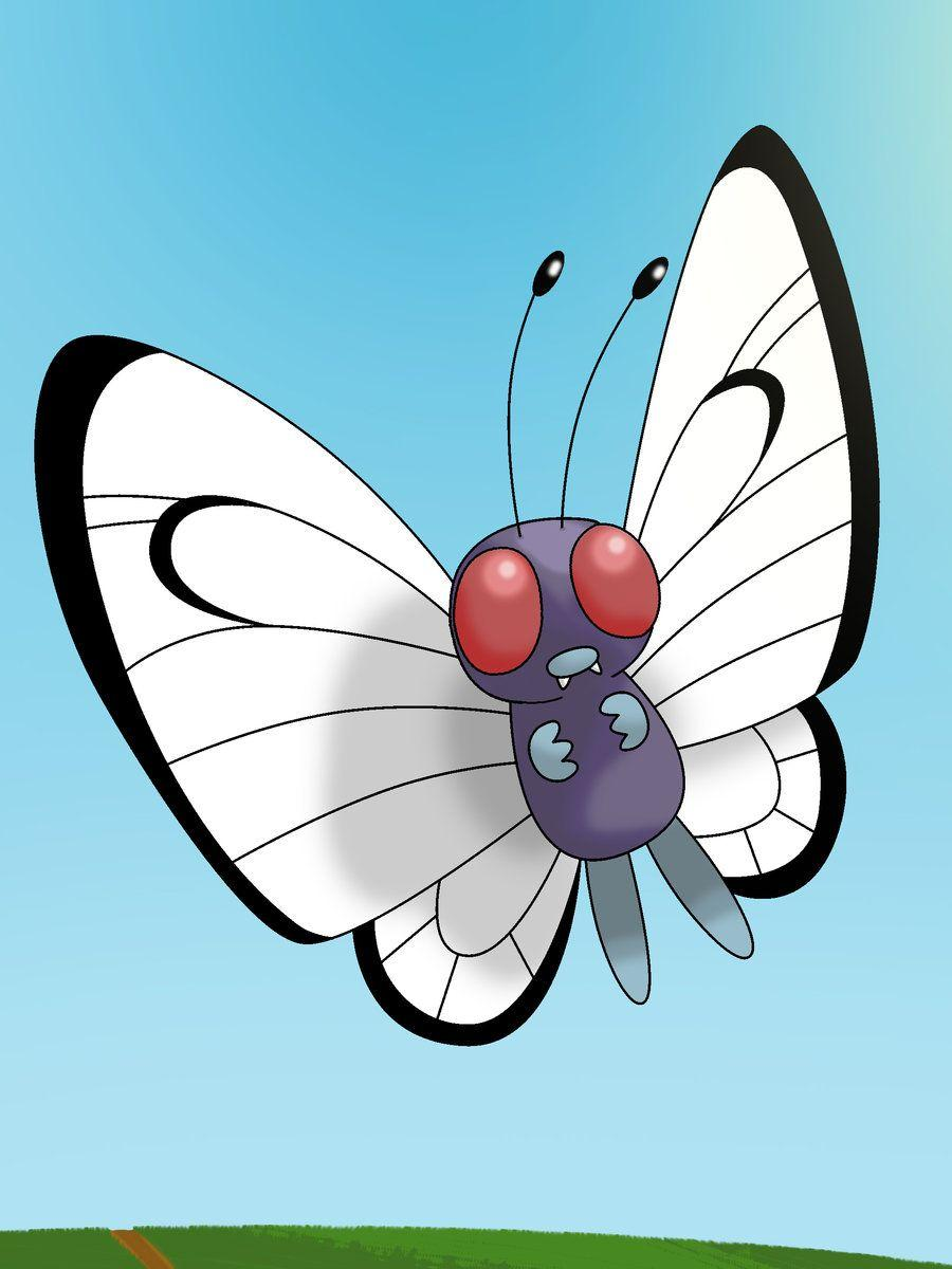 Butterfree by Nexeron on DeviantArt