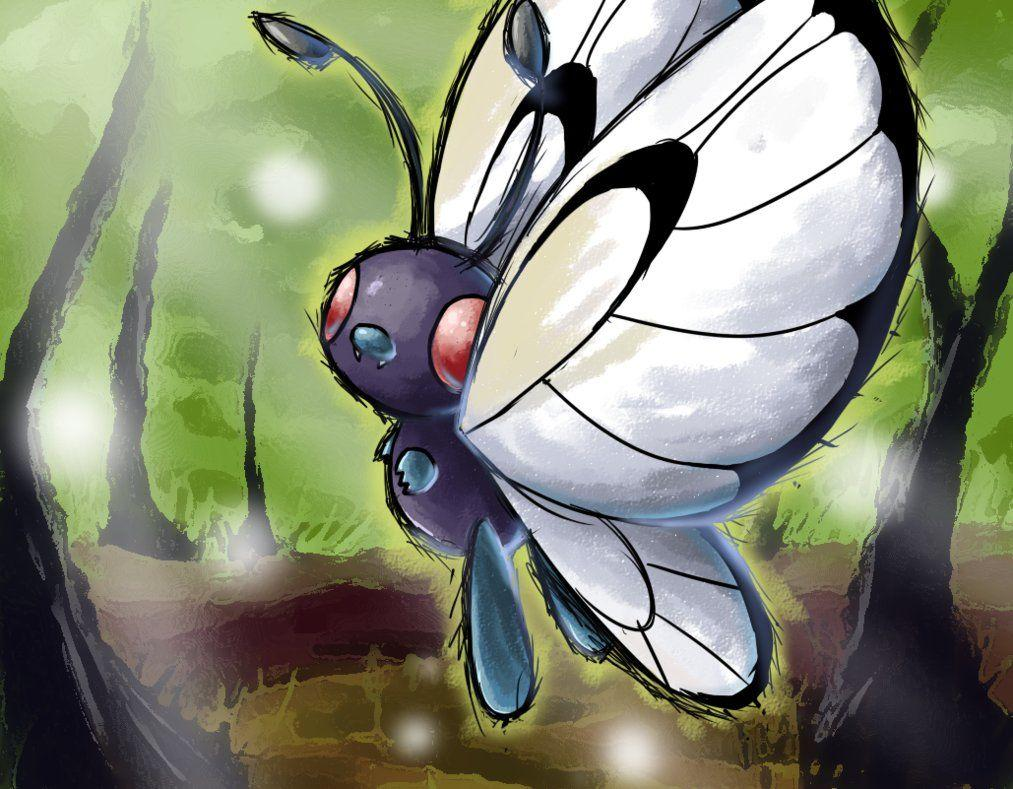 AC - Butterfree by nintendo-jr on DeviantArt